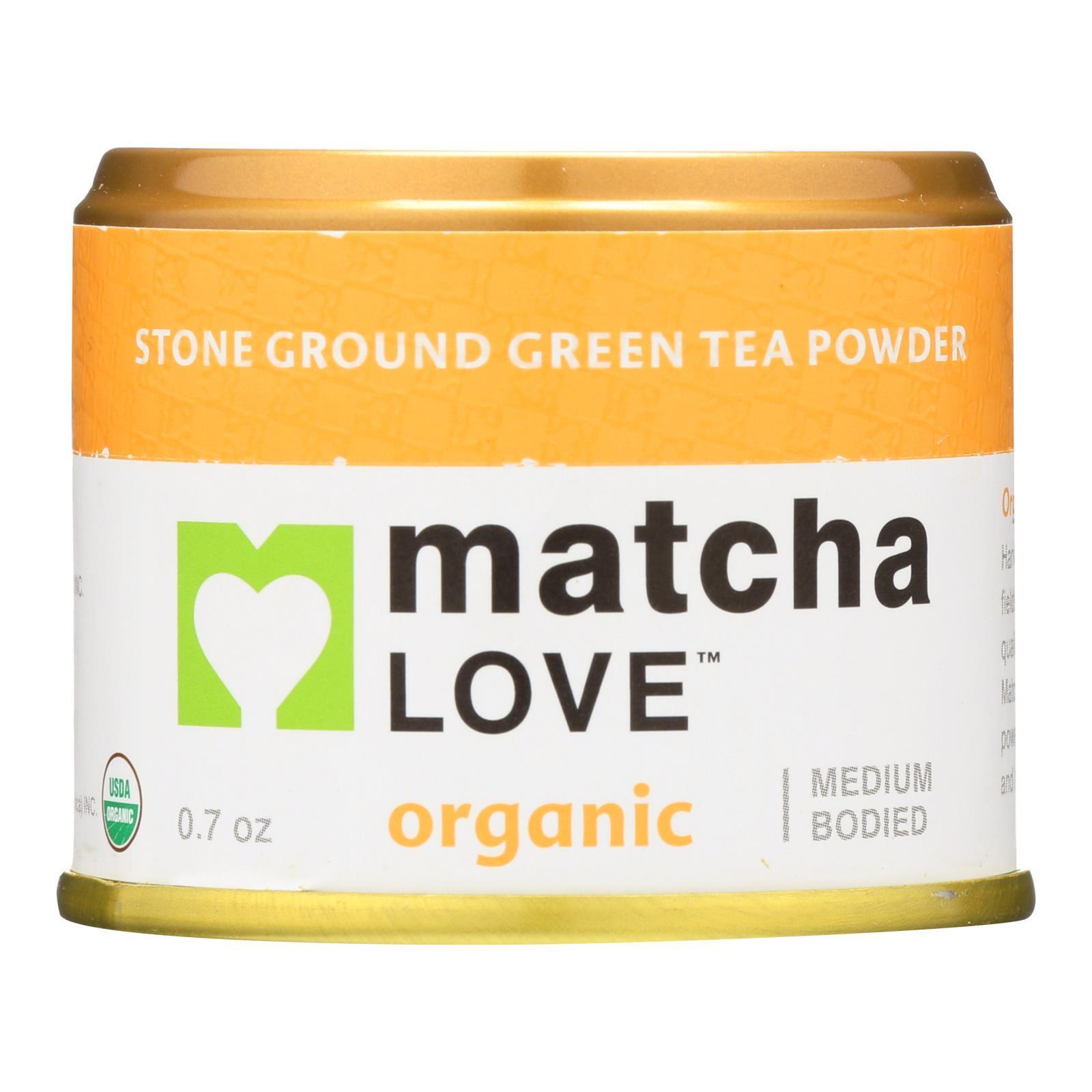 Matcha Love Green Tea Powder - Medium Bodied - Case of 10 - 0.7 oz.