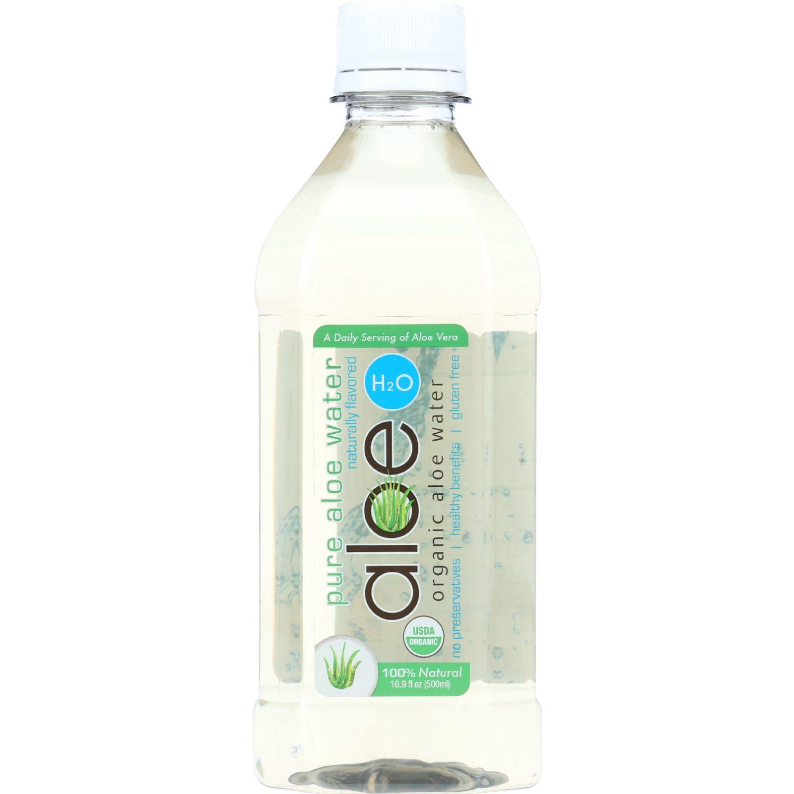 Lily Of The Desert Aloe H2O - Organic - Original - Gluten Free - 16.9 oz - case of 12
