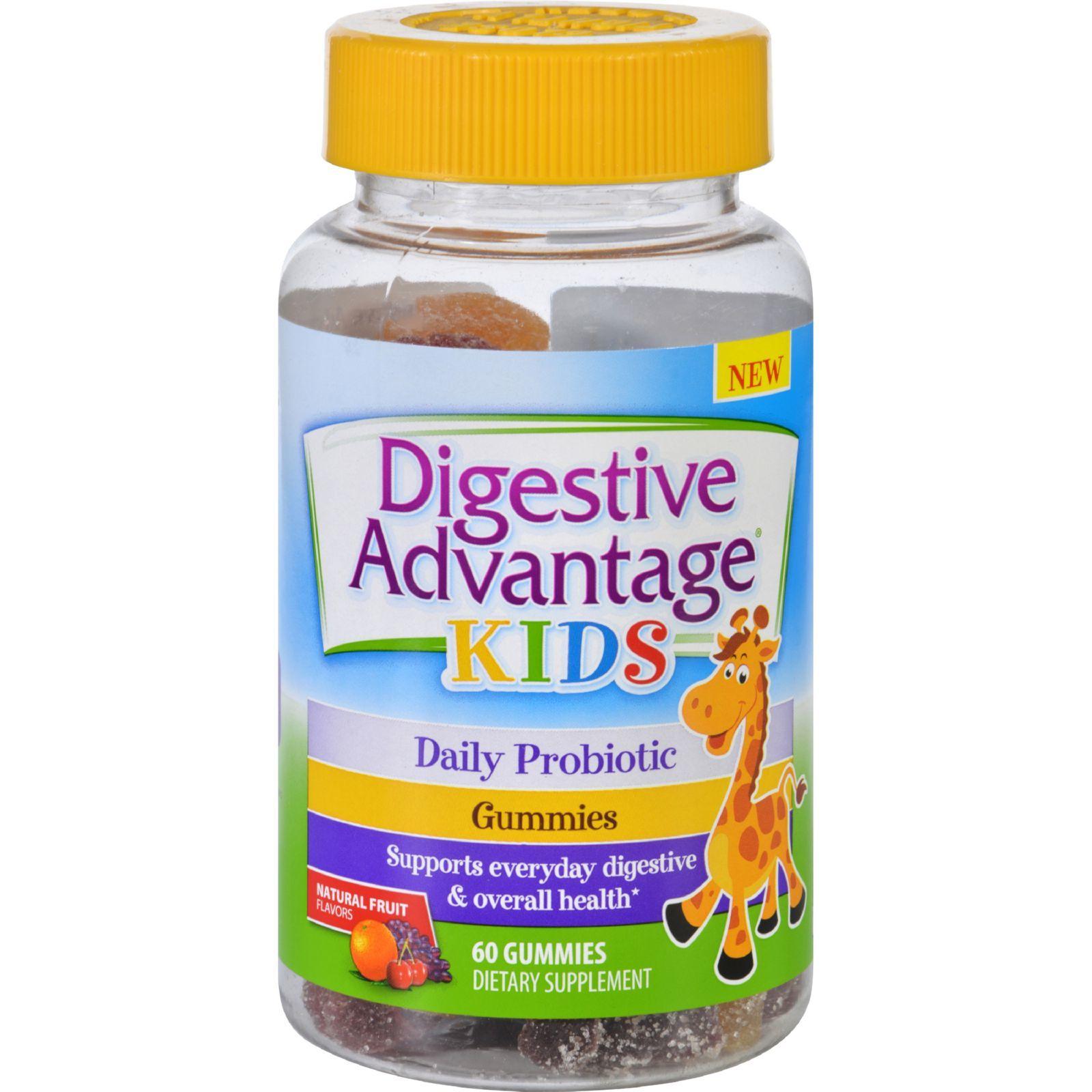 Schiff Vitamins Digestive Advantage Probiotics - Kids - Gummies - 60 Count