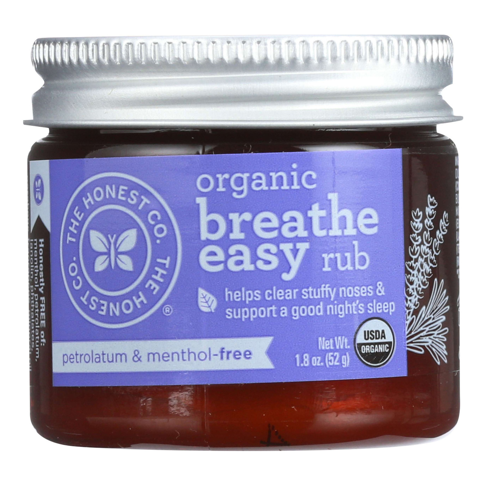 The Honest Company Organic Breathe Easy Rub - 1.8 oz