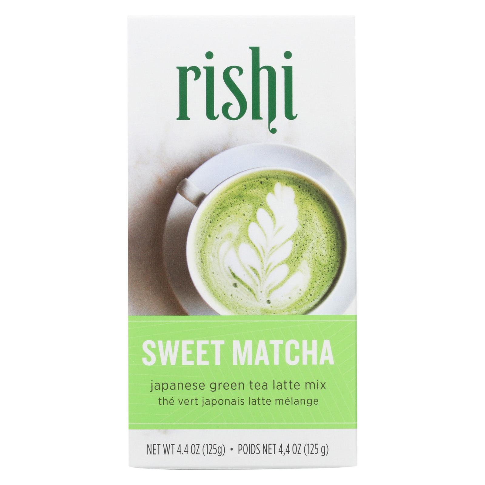 Rishi Green Tea - Sweet Matcha - Case of 6 - 4.4 oz