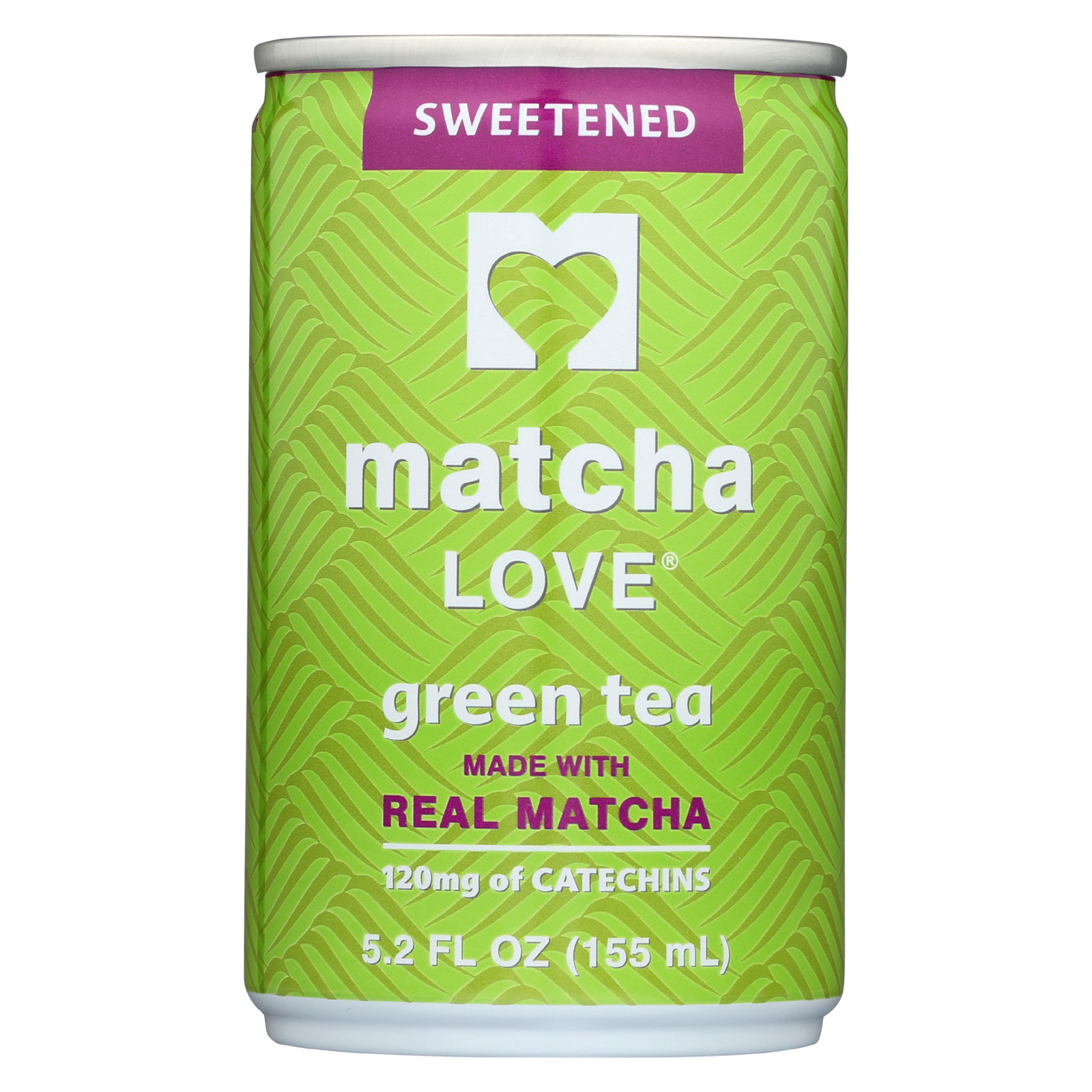 Matcha Love Sweetened Green Tea Powder - Case of 20 - 5.2 oz.