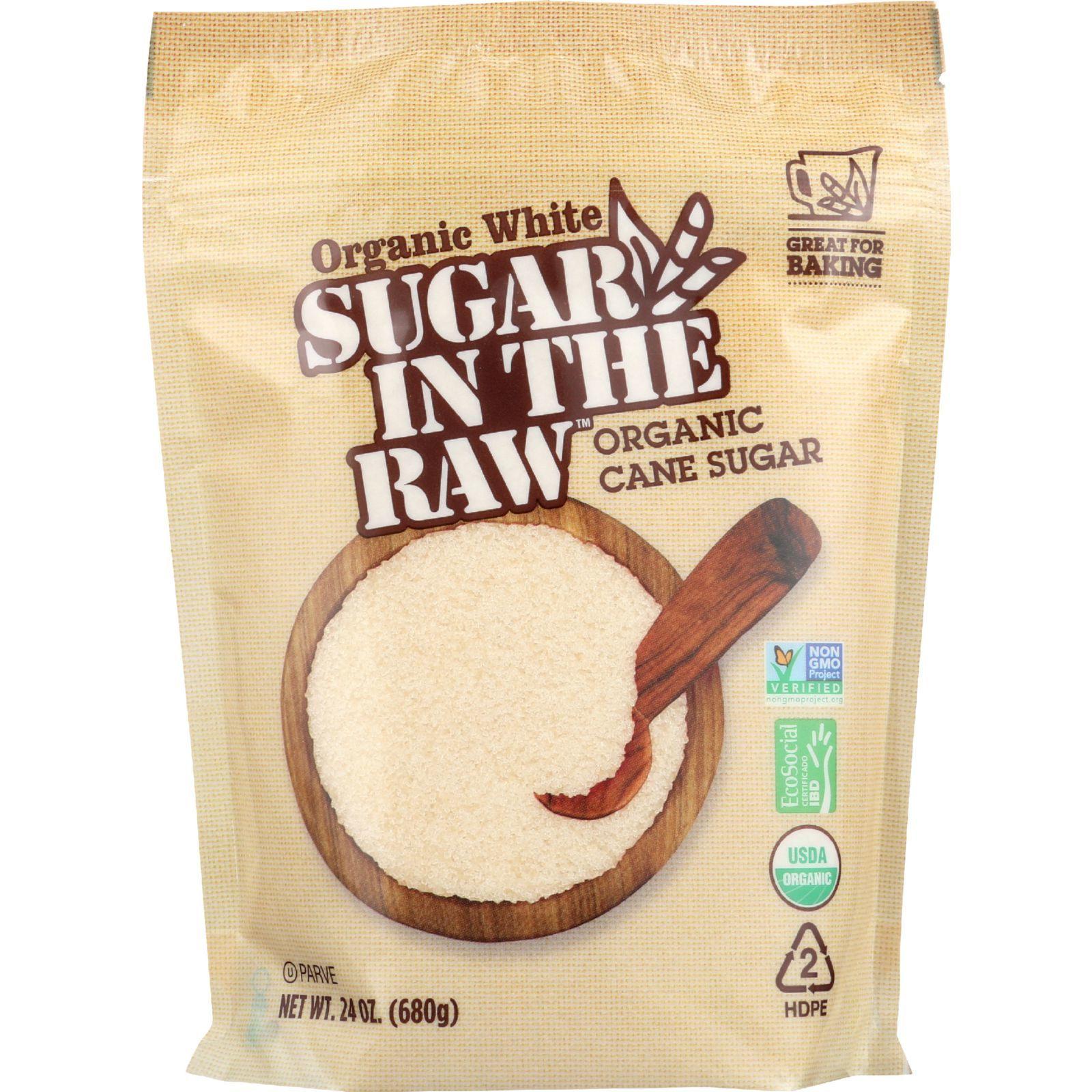 Sugar In The Raw Sugar - Organic - White - 24 oz - case of 8