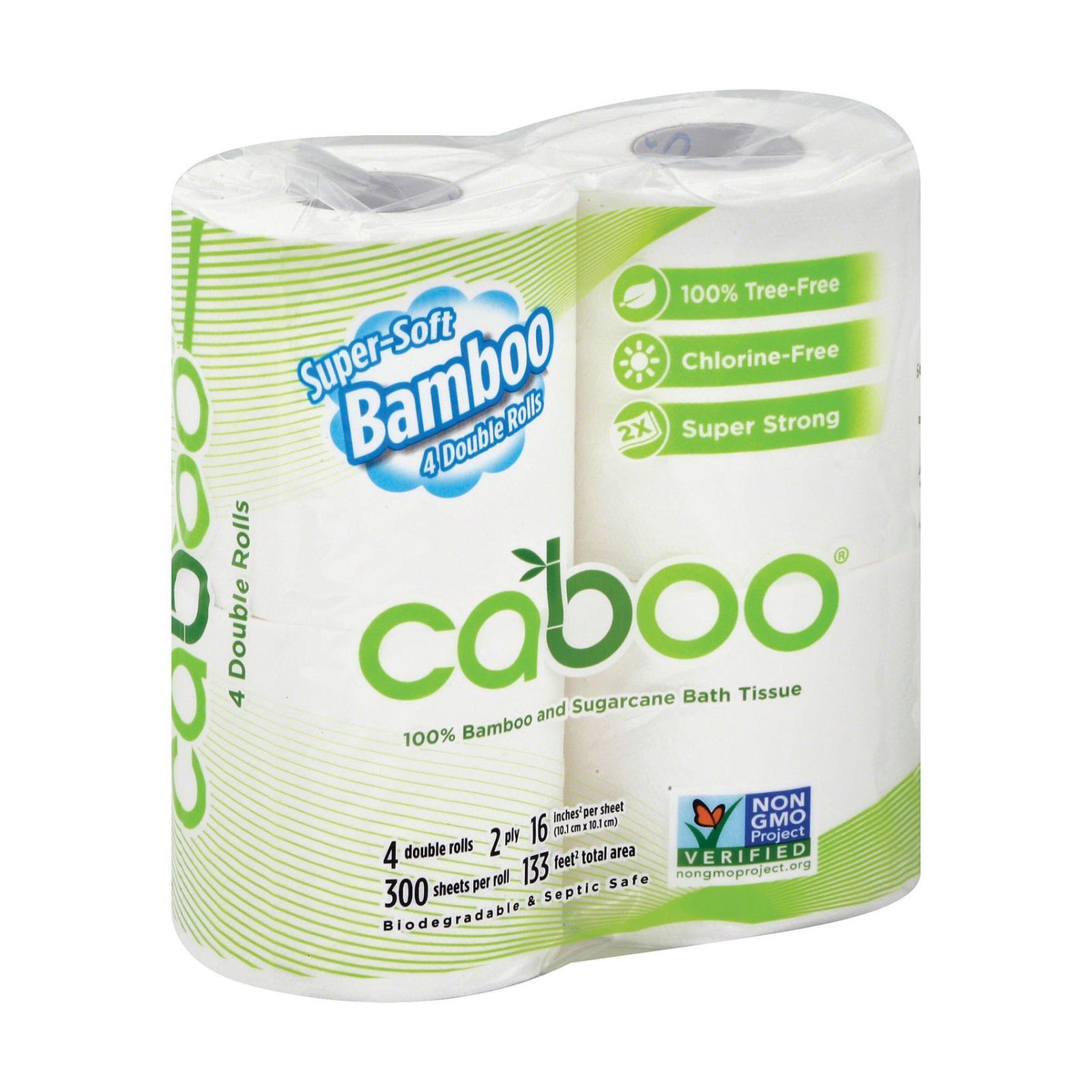 Caboo Bathroom Tissue - Case of 10