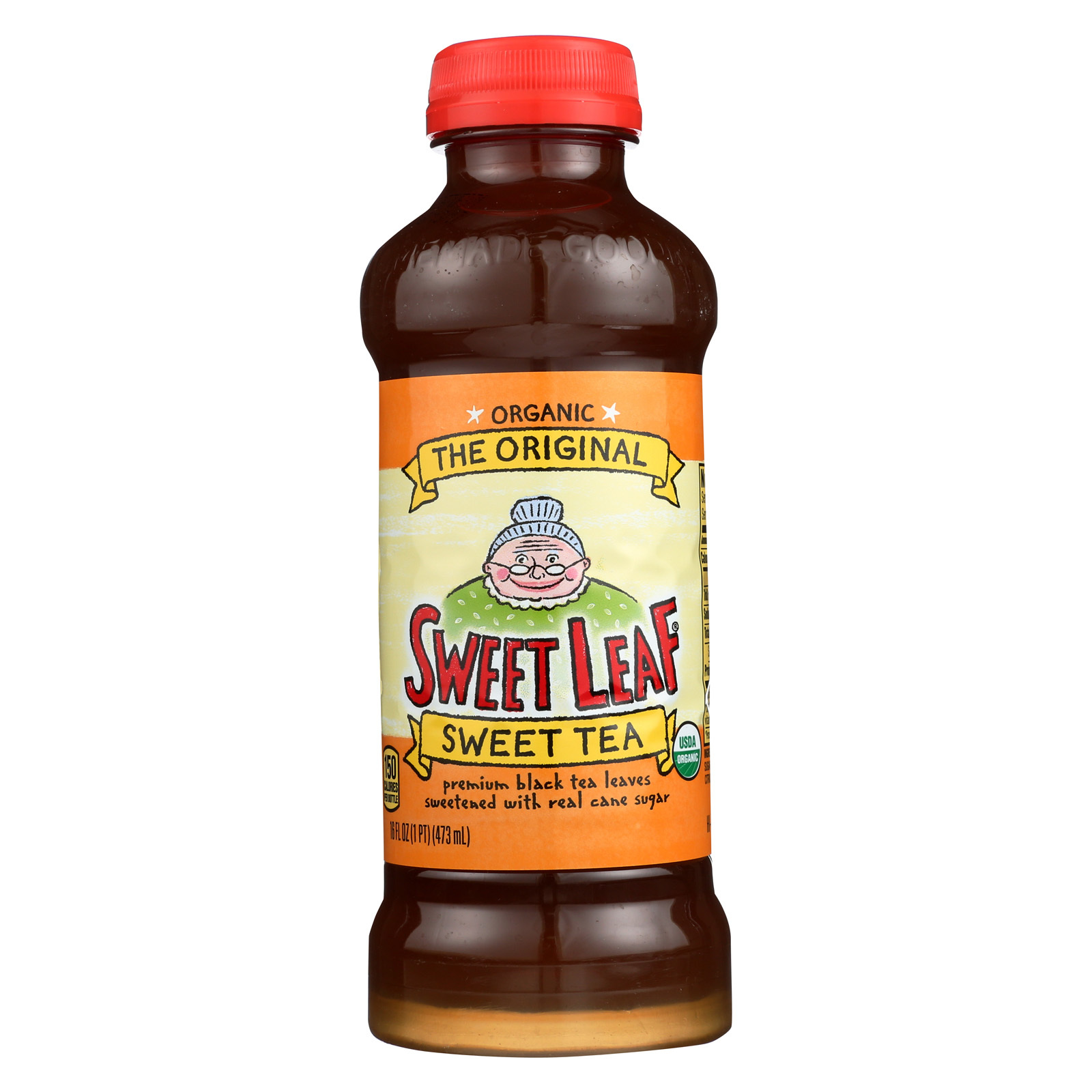 Sweet Leaf Iced Tea - The Original - Case of 12 - 16 Fl oz.