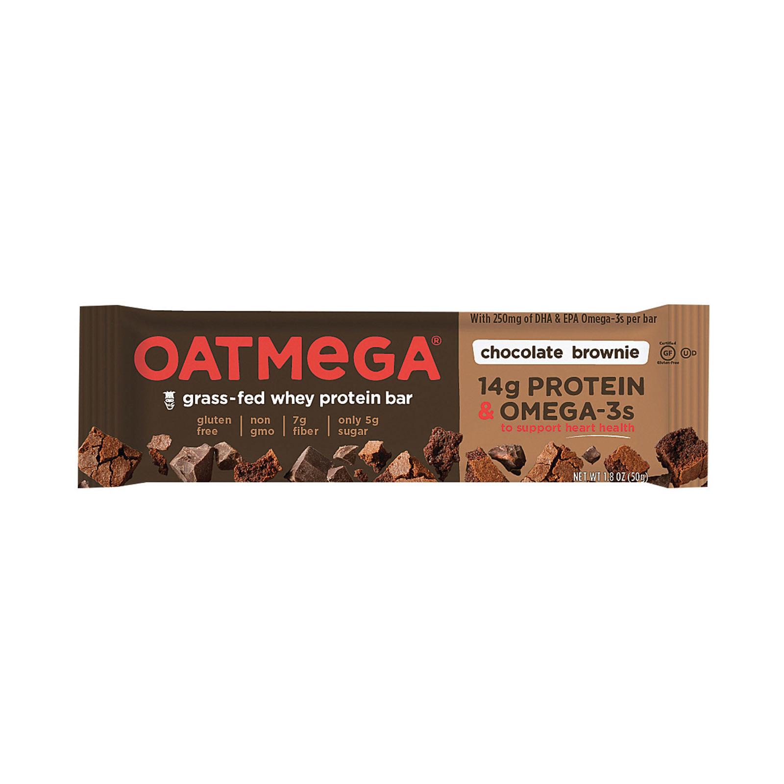 Oatmegabar Brownie Crisp Bar - Case of 12 - 1.8 oz.