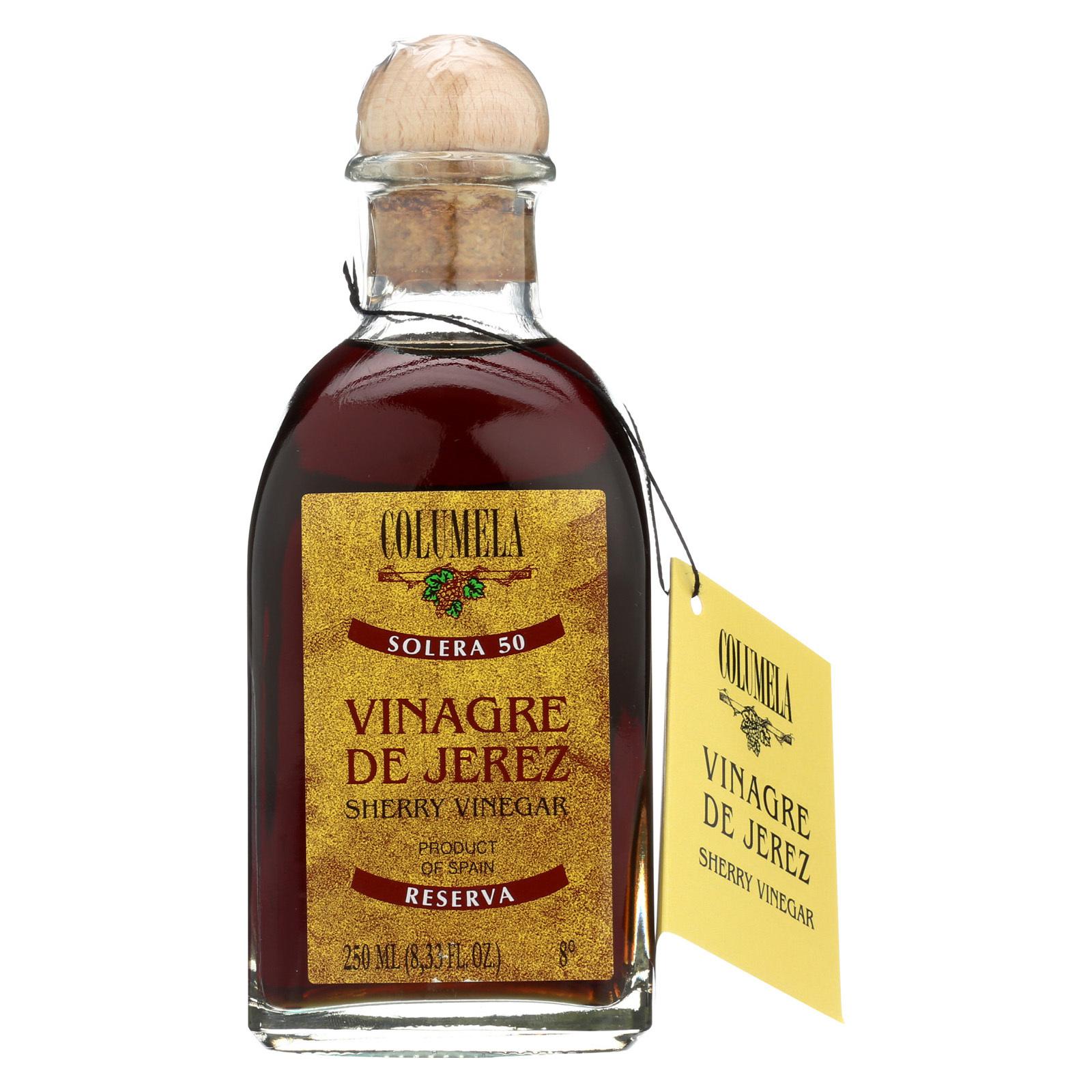 Columela Vinegar - Sherry - 50 Yr - Case of 6 - 8.33 fl oz