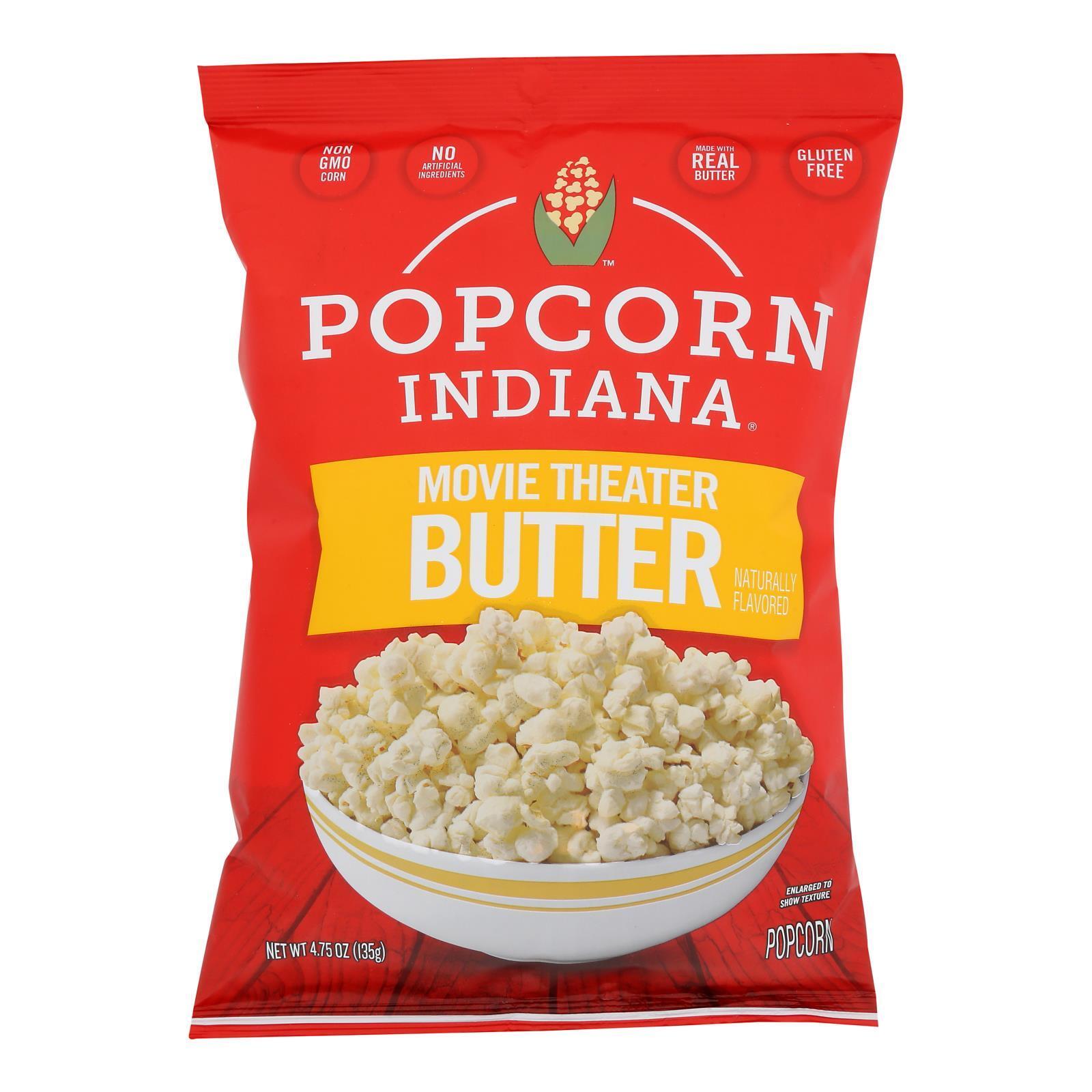 Popcorn Indiana Popcorn - Movie Theater - Case of 12 - 4.75 oz.