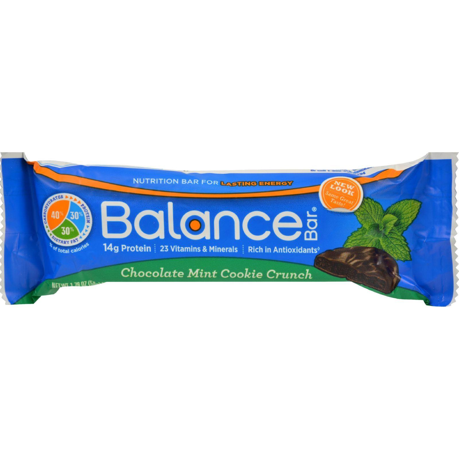 Balance Bar - Chocolate Mint Cookie Crunch - 1.76 oz - Case of 6