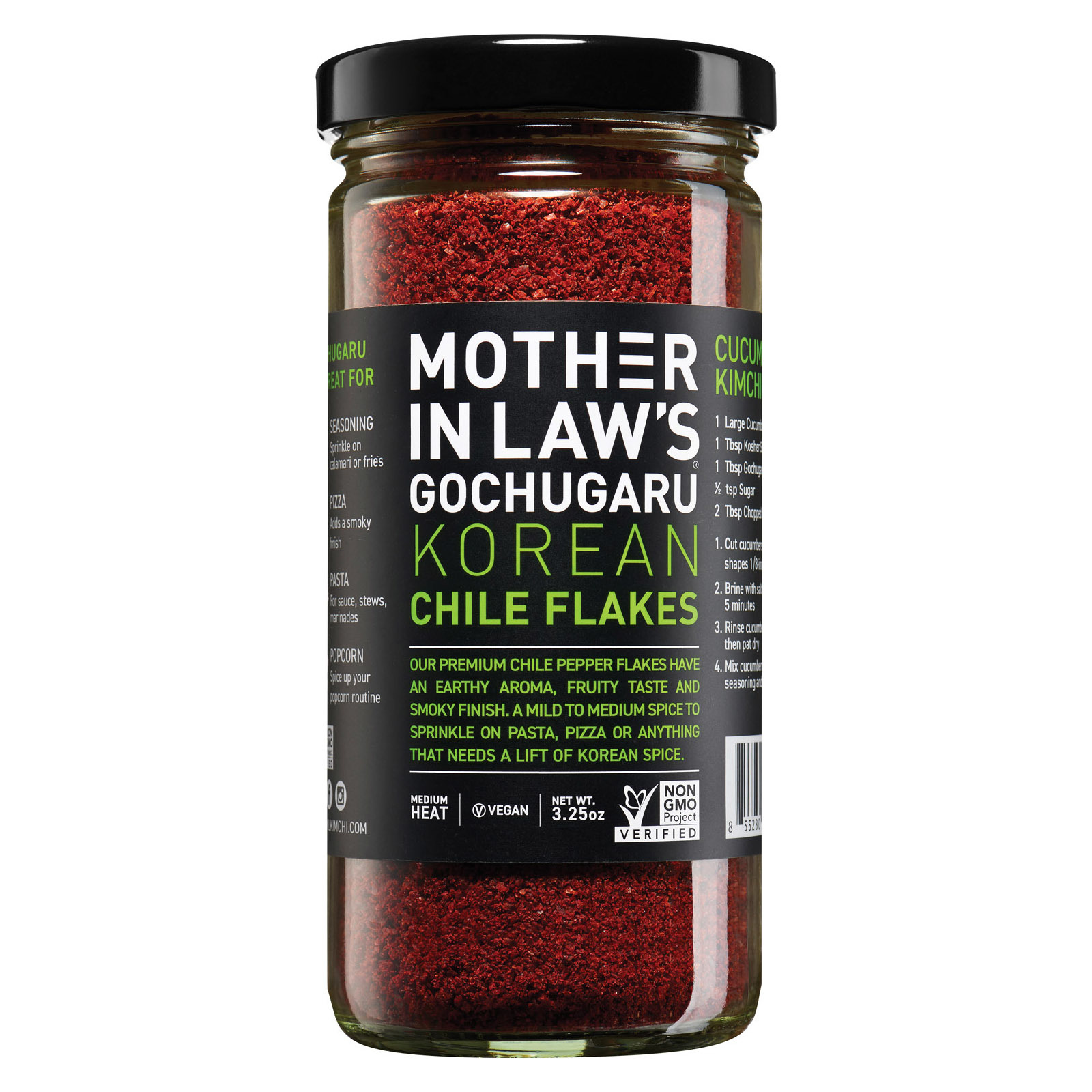 Mother-In-Law's Kimchi Chili Pepper Flakes - Case of 6 - 3.5 oz.