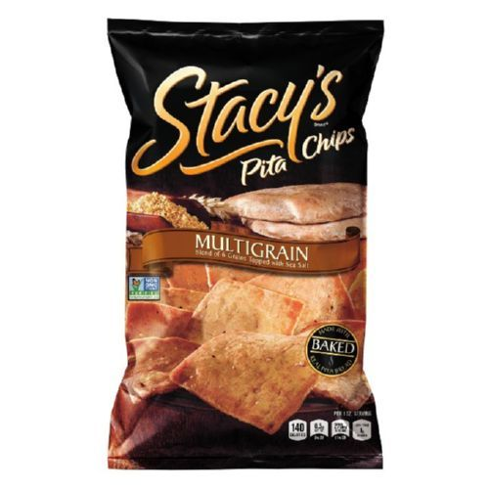 Stacey's Pita Chips - Multigrain - 7.33 oz - Case of 12