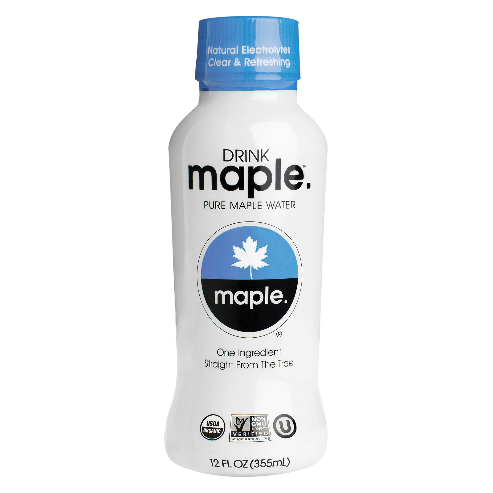 Drink Maple Organic Maple Water - Case of 12 - 12 FL oz.