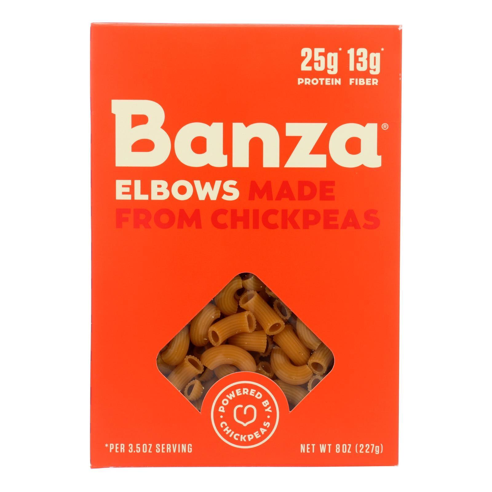 Banza Chickpea Pasta - Case of 6 - 8 oz.