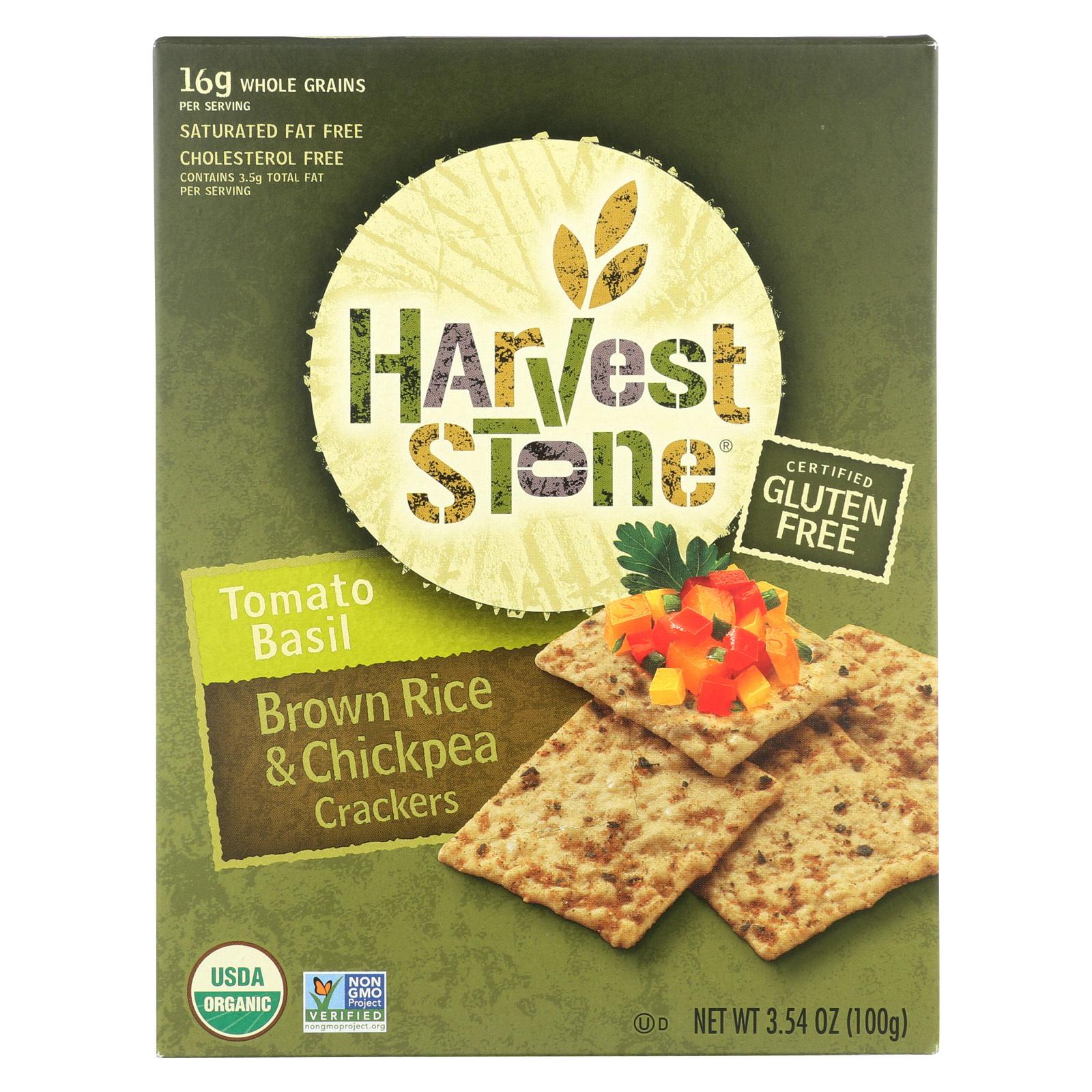 Harvest Stone Harvest Stone Crispy Mix Snack - Tomato Basil - Case of 6 - 3.54 oz.