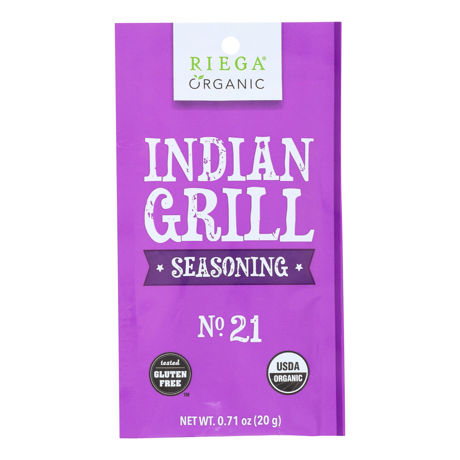 Riega Foods Taco Seasoning - Case of 8 - 0.71 oz.