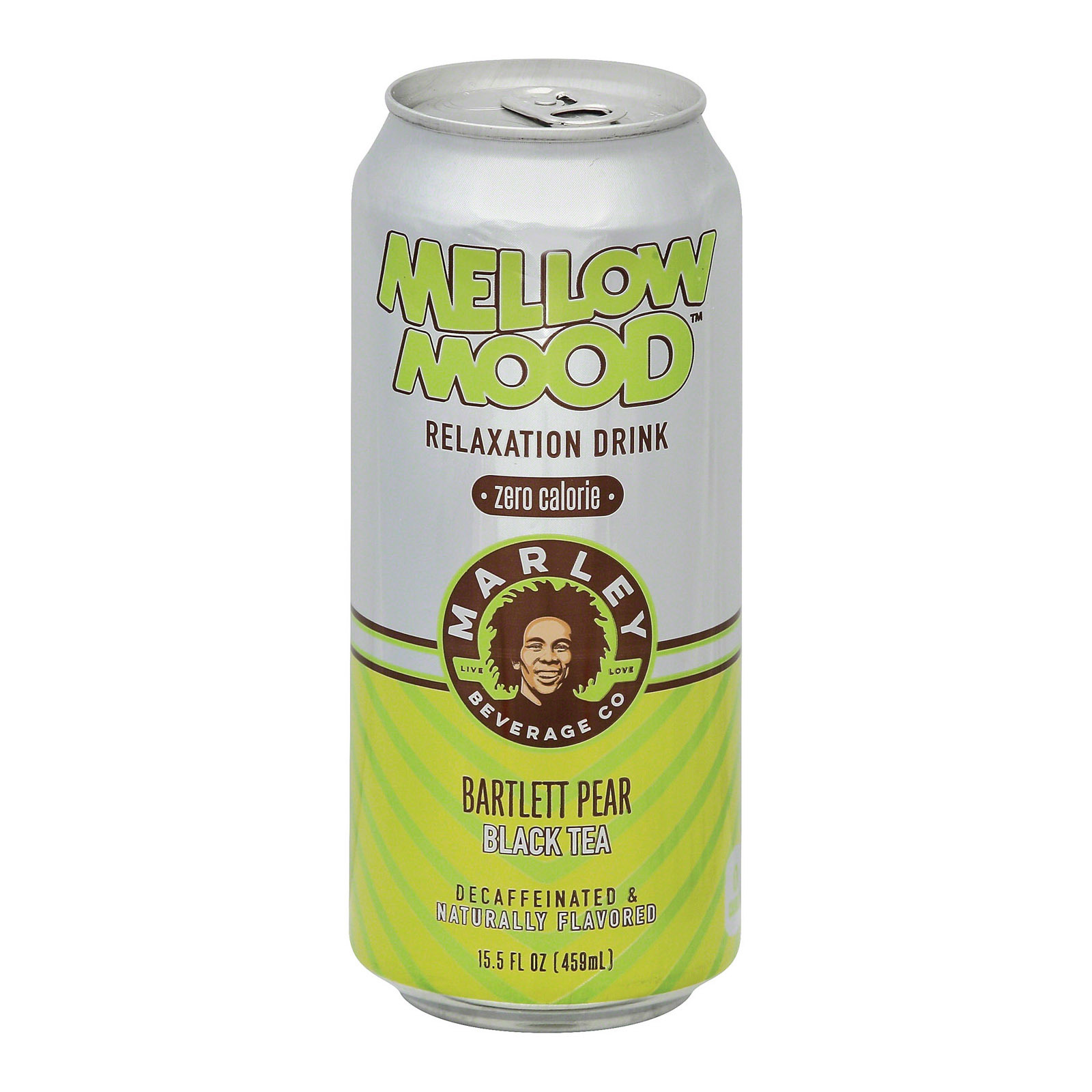 Marley's Mellow Mood Bartlett Pear Black Tea Zero - Case of 12 - 15.5 Fl oz.
