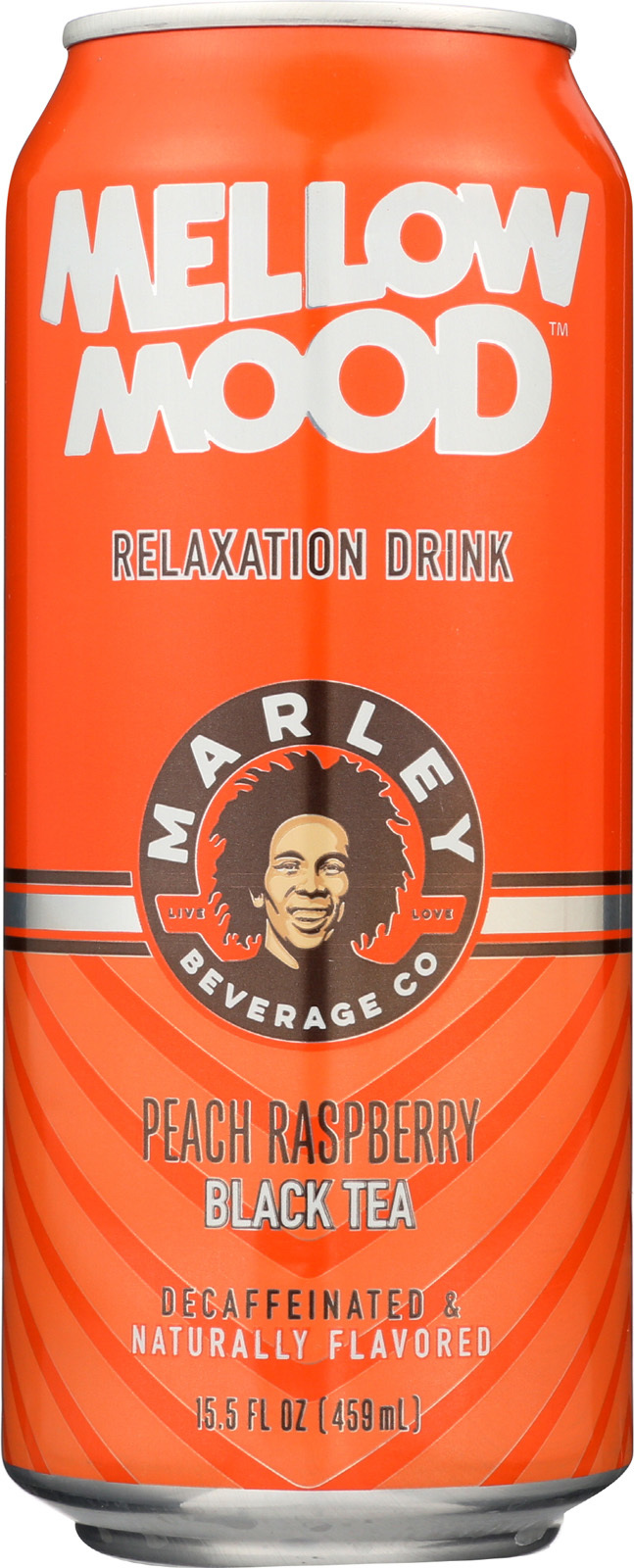 Marley's Mellow Mood Peach Raspberry Black Tea - Case of 12 - 15.5 Fl oz.
