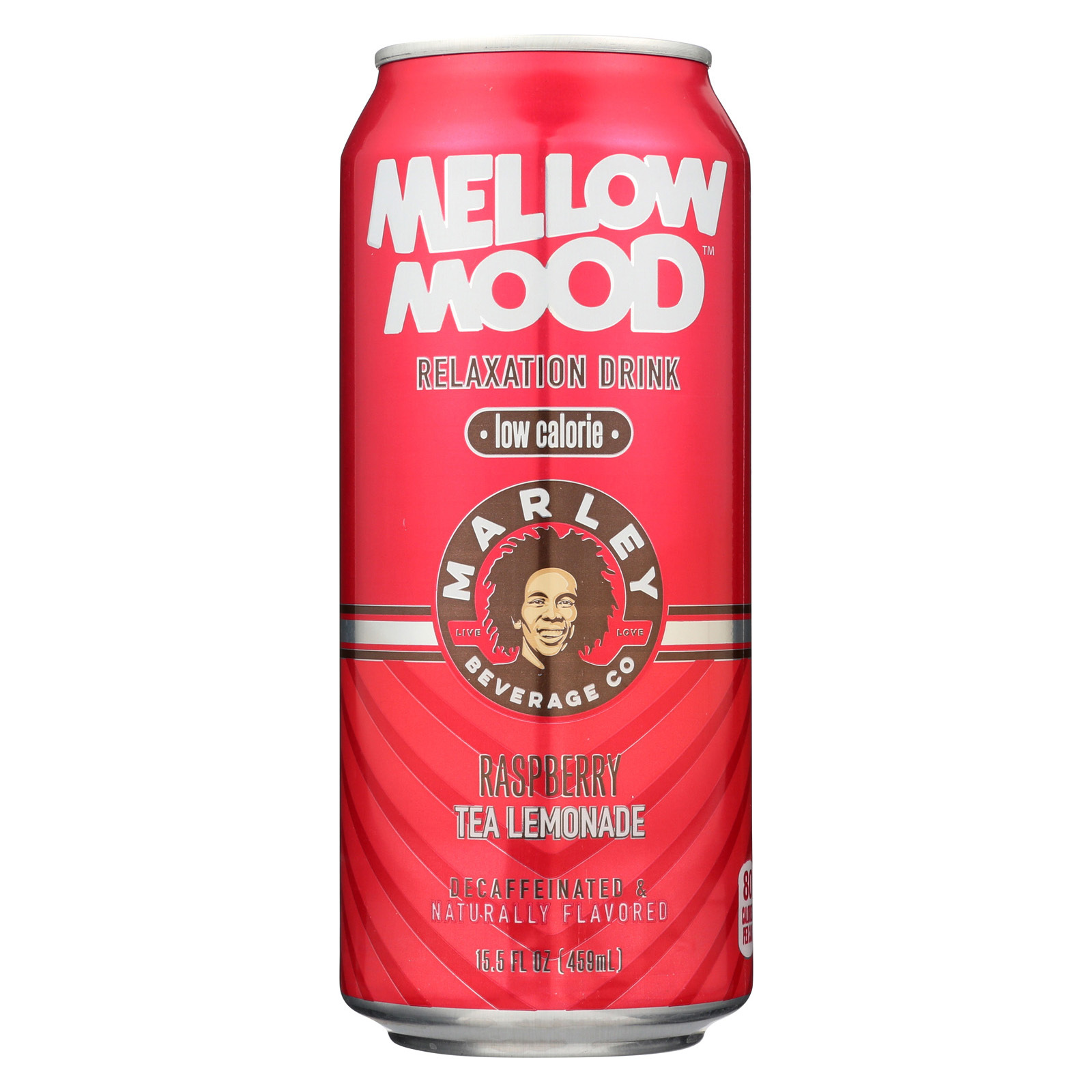 Marley's Mellow Mood Raspberry Tea Lemonade - Case of 12 - 15.5 Fl oz.