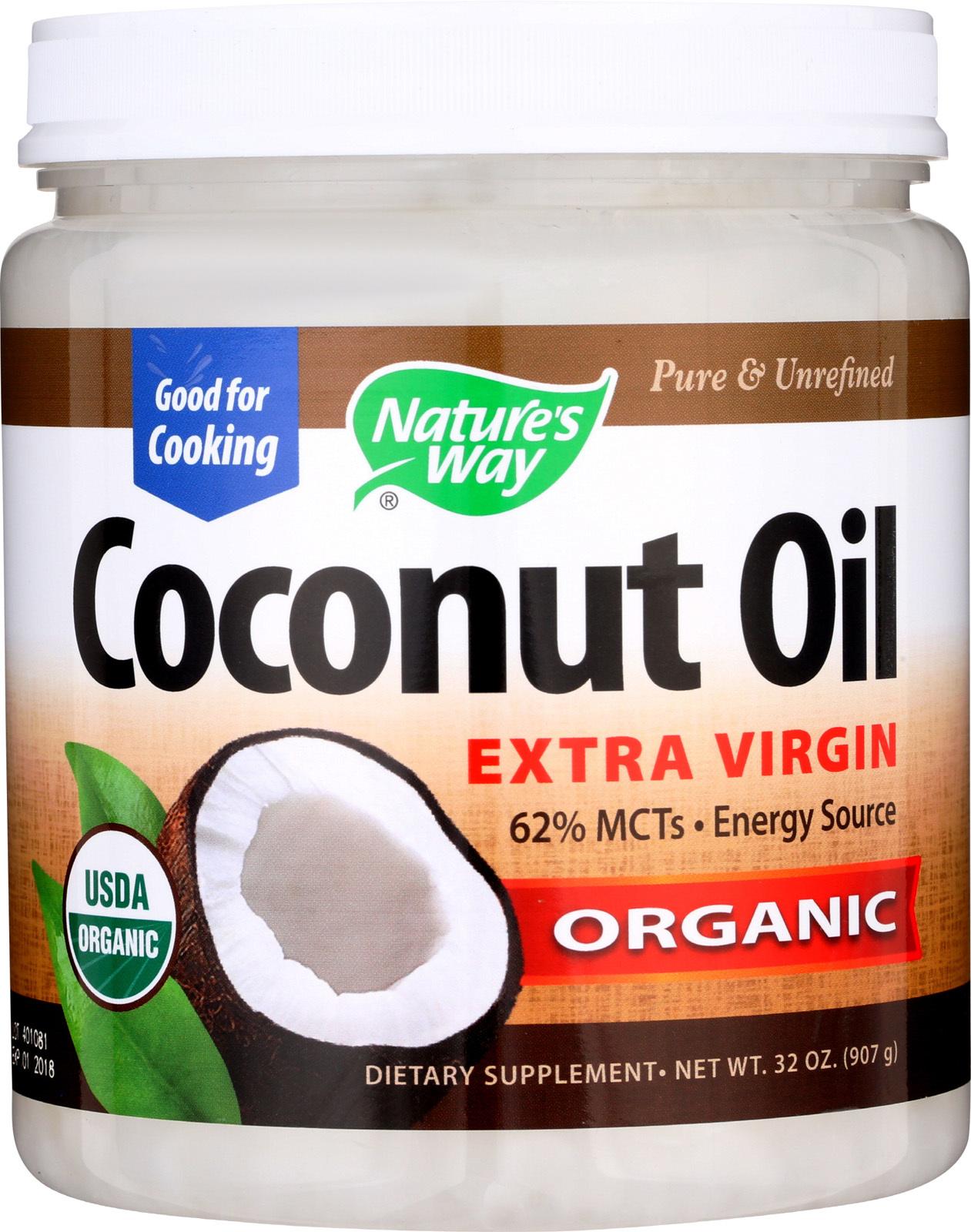Nature's Way Coconut Oil - Extra Virgin - 32 oz.