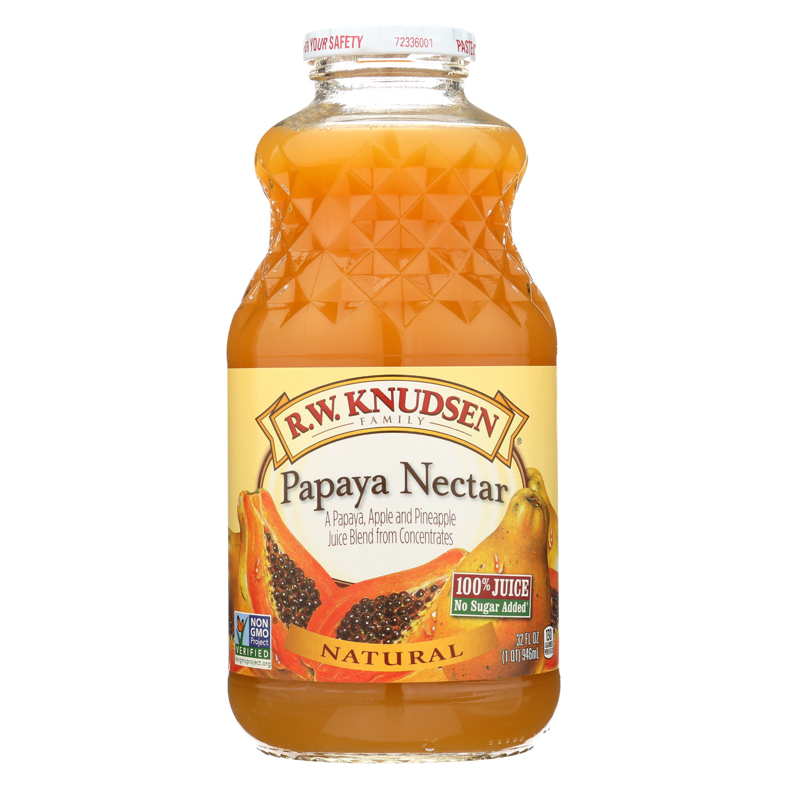 R.W. Knudsen Juice - Papaya Nectar - 32 fl oz