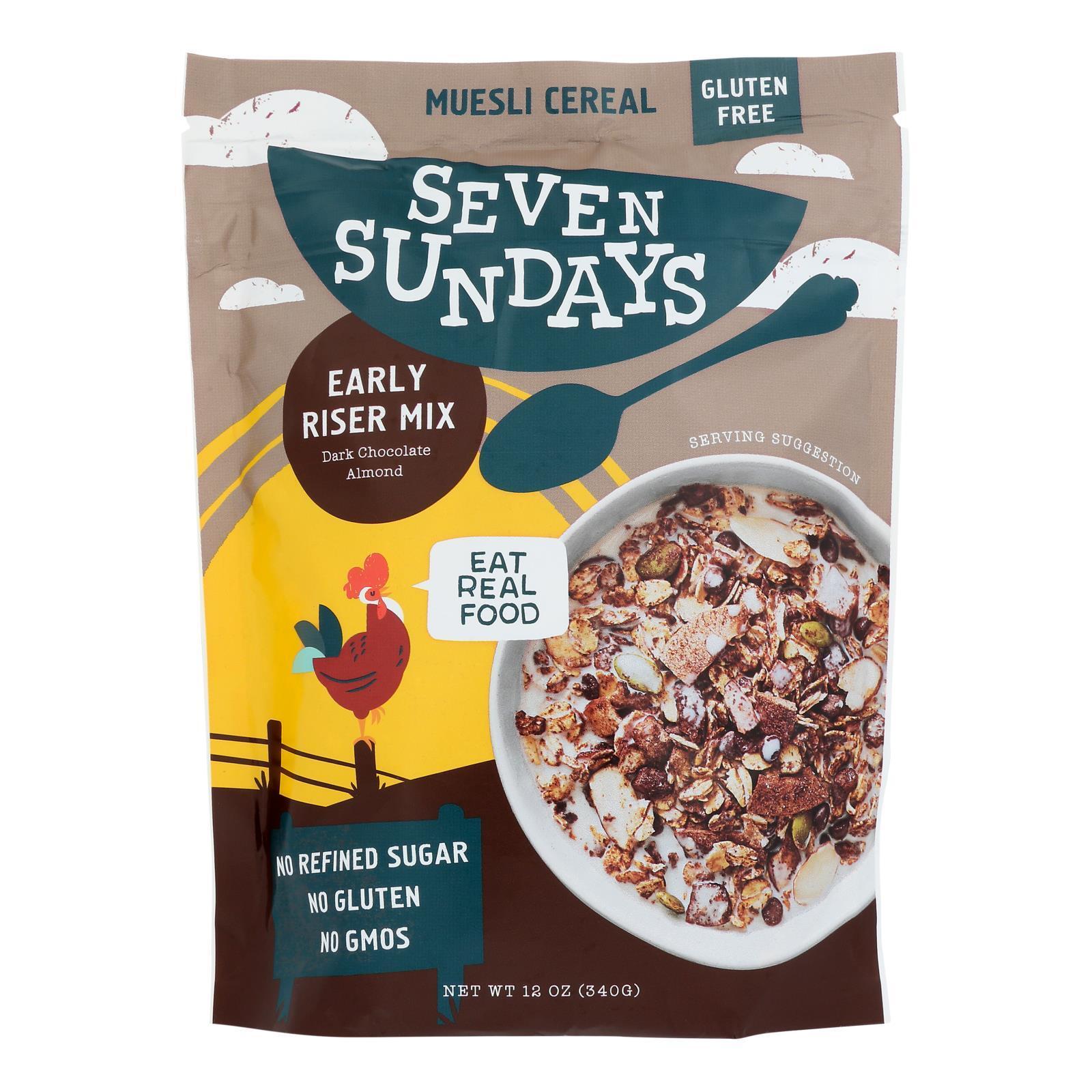 Seven Sundays Muesli - Cocoa Coconut - Case of 6 - 12 oz.