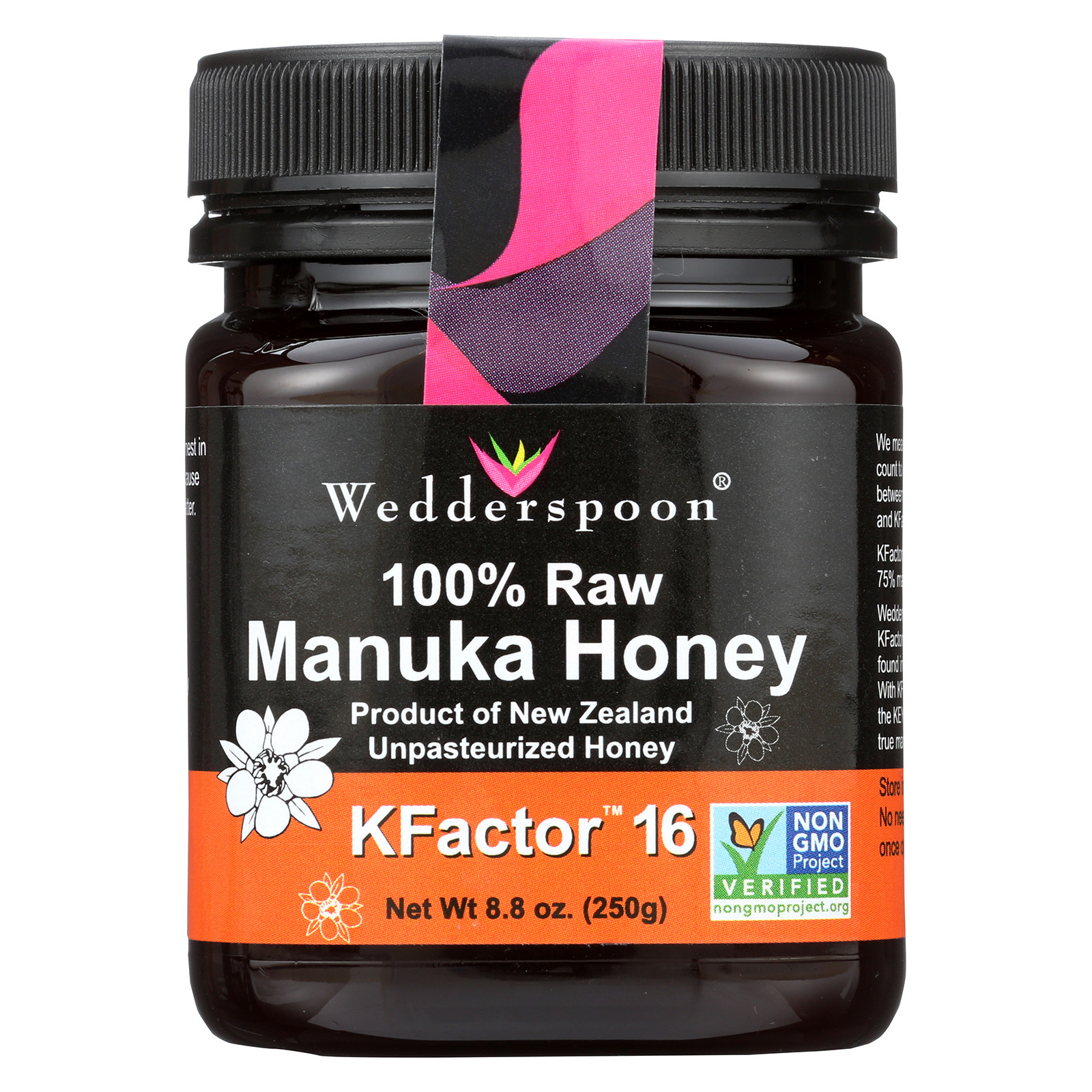 Wedderspoon Honey - Manuka - 8.8 oz.