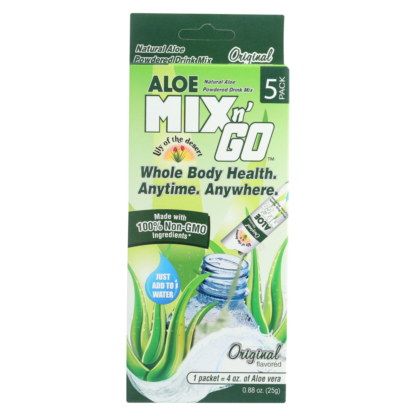 Lily of The Desert Aloe Mix N Go - Original - Case of 10