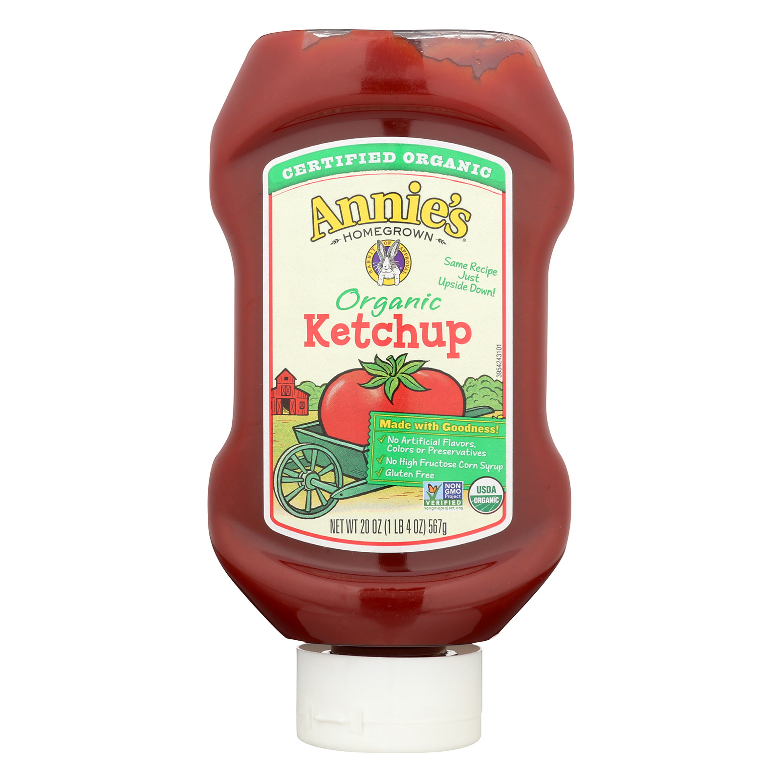 Annie's Homegrown Annie's Naturals Organic Ketchup - Case of 12 - 20 oz.