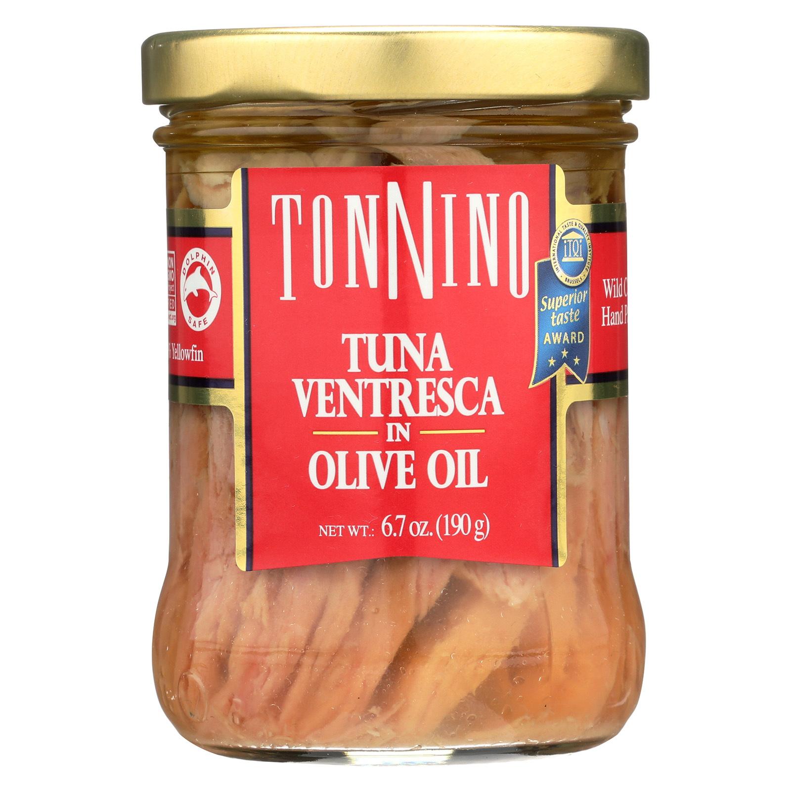 Tonnino Tuna Ventresca - Olive Oil - Case of 6 - 6.7 oz.