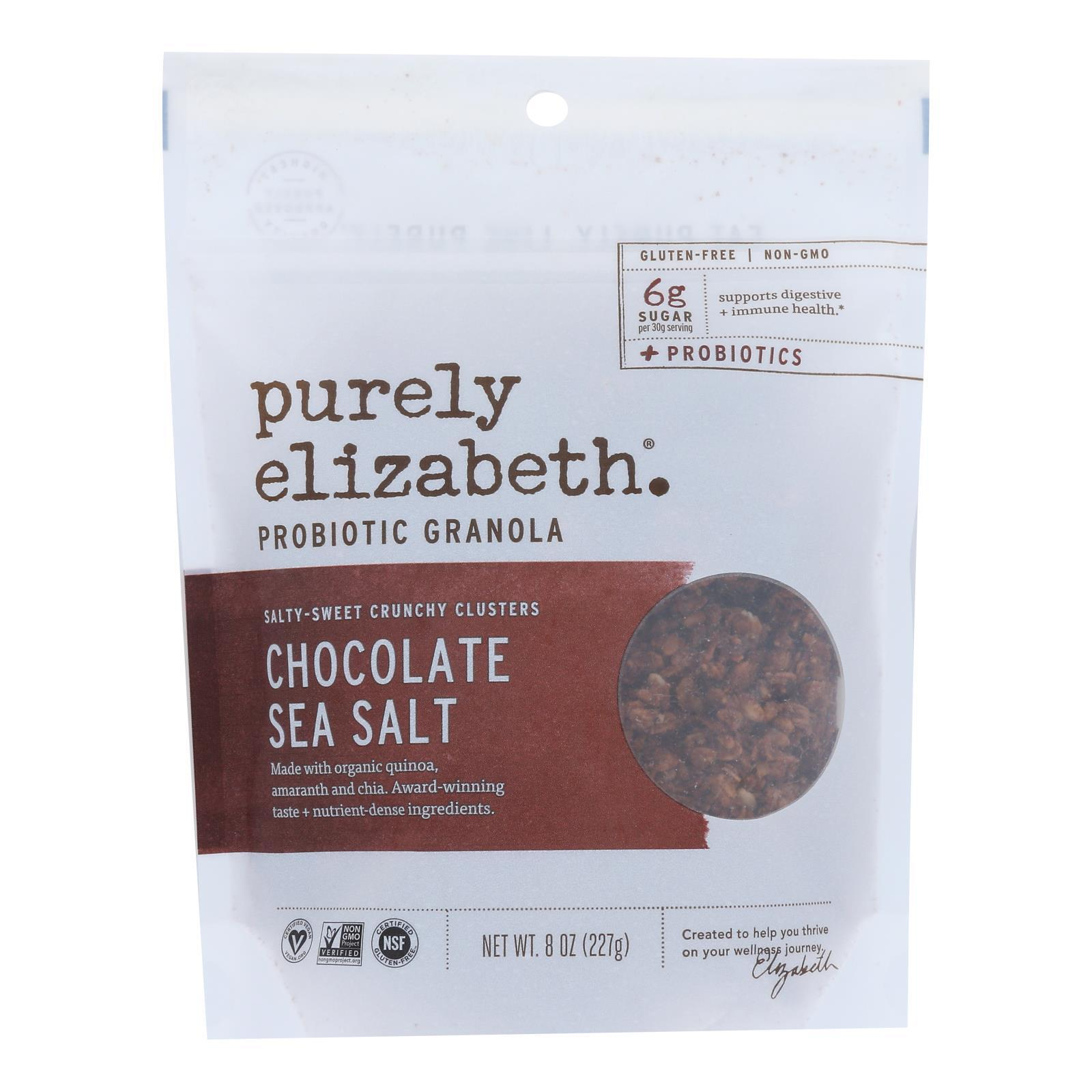 Purely Elizabeth Probiotic Granola - Maple Walnut - Case of 6 - 8 oz.