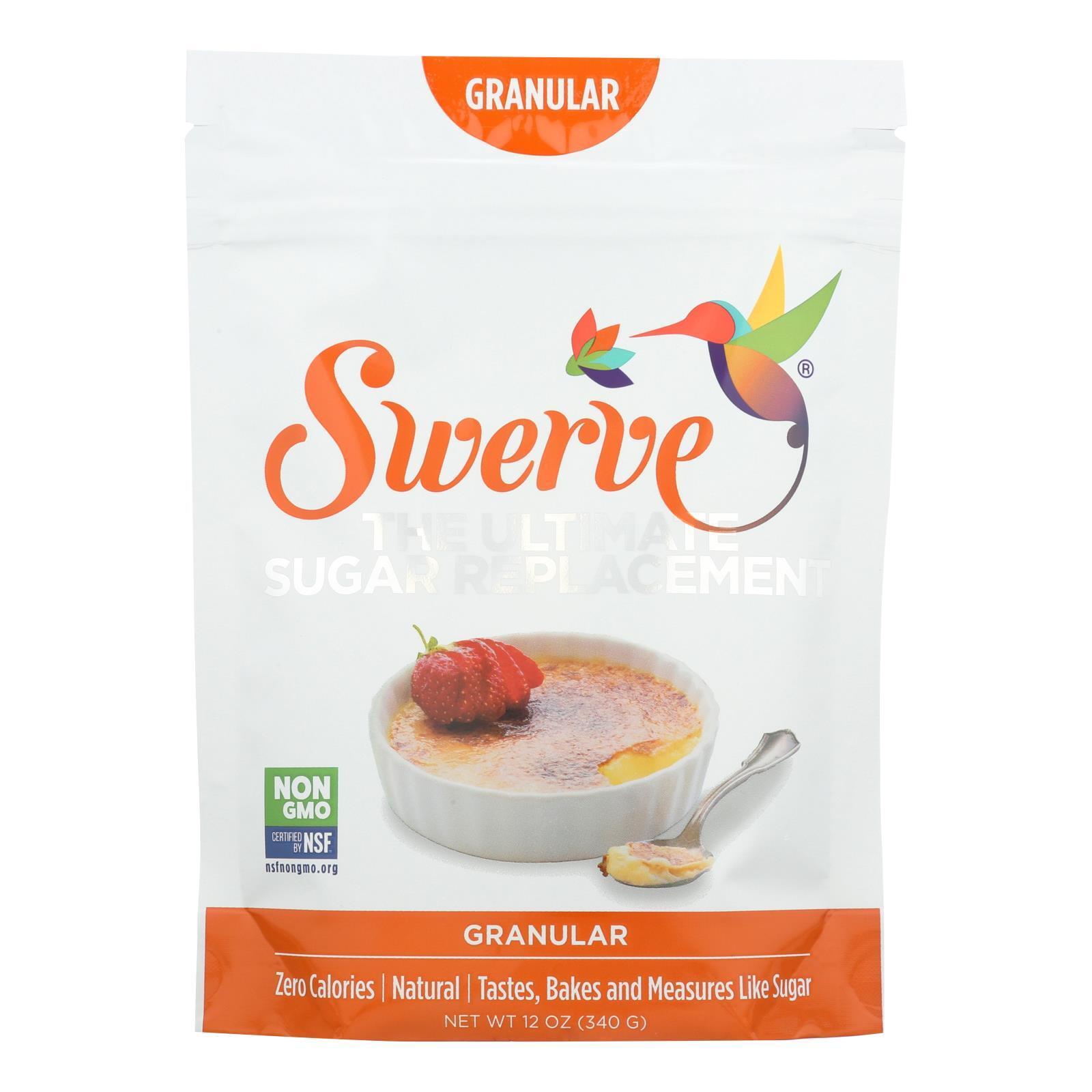 Swerve Sweetener - Granular - Case of 6 - 12 oz.