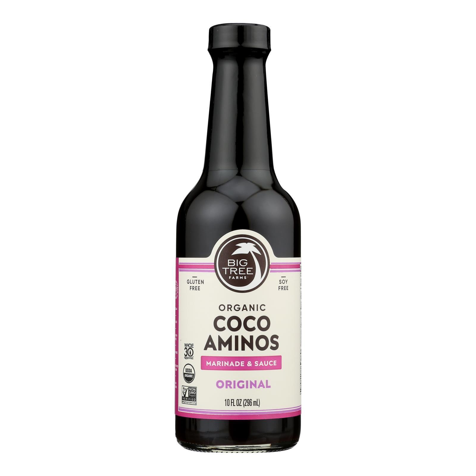 Big Tree Farms Organic Coco Aminos - Case of 12 - 10 Fl oz.