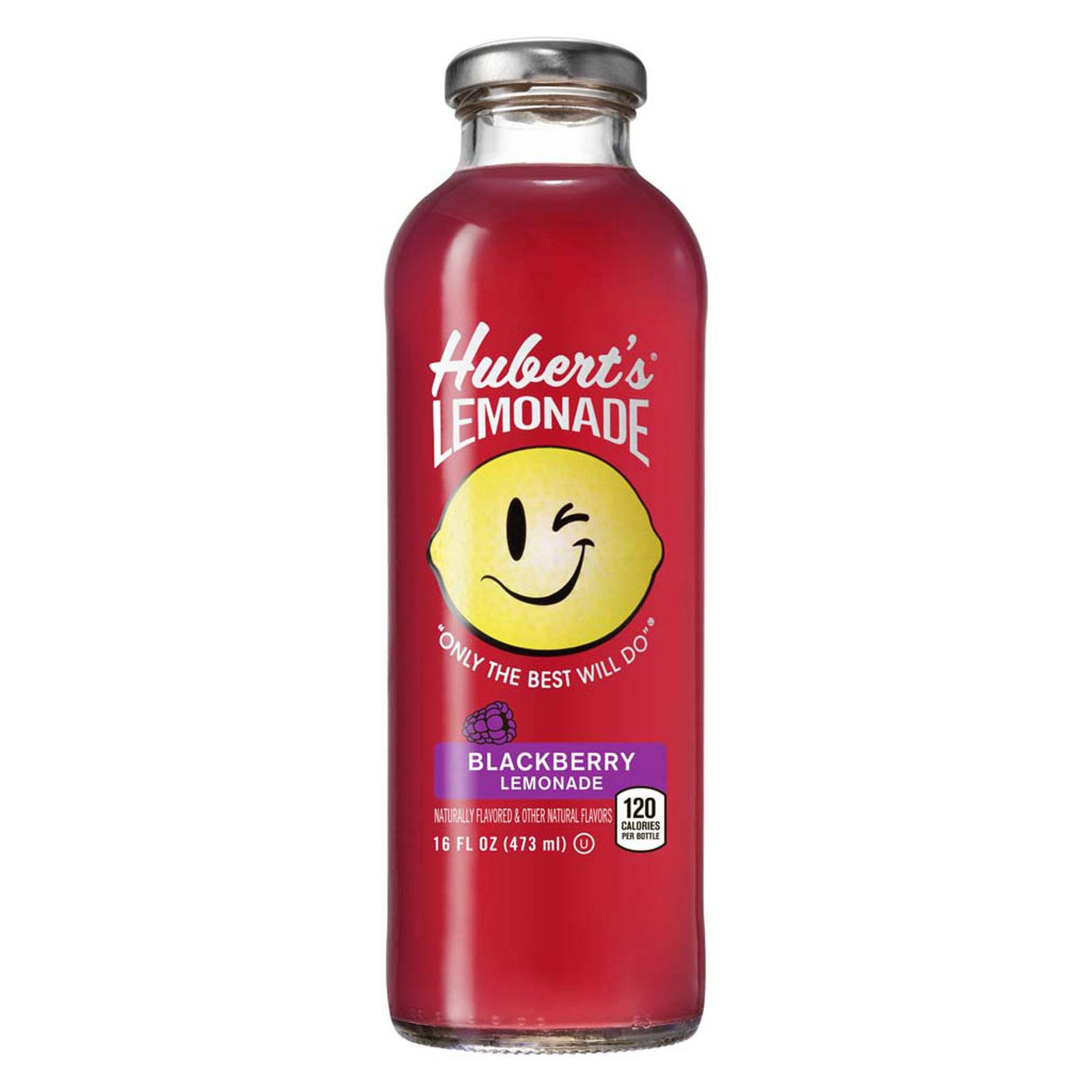 Hubert's Lemonade, Blackkberry,  16 fl oz