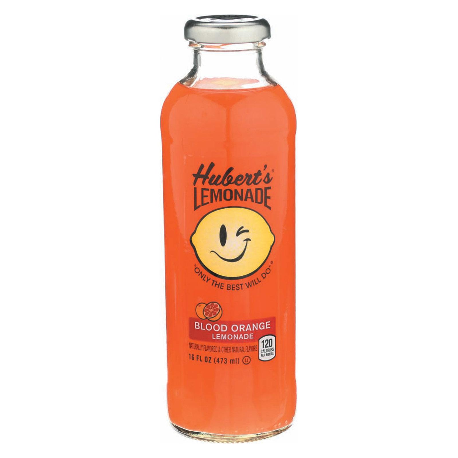 Hubert's Lemonade, Blood Orange, 16 fl oz