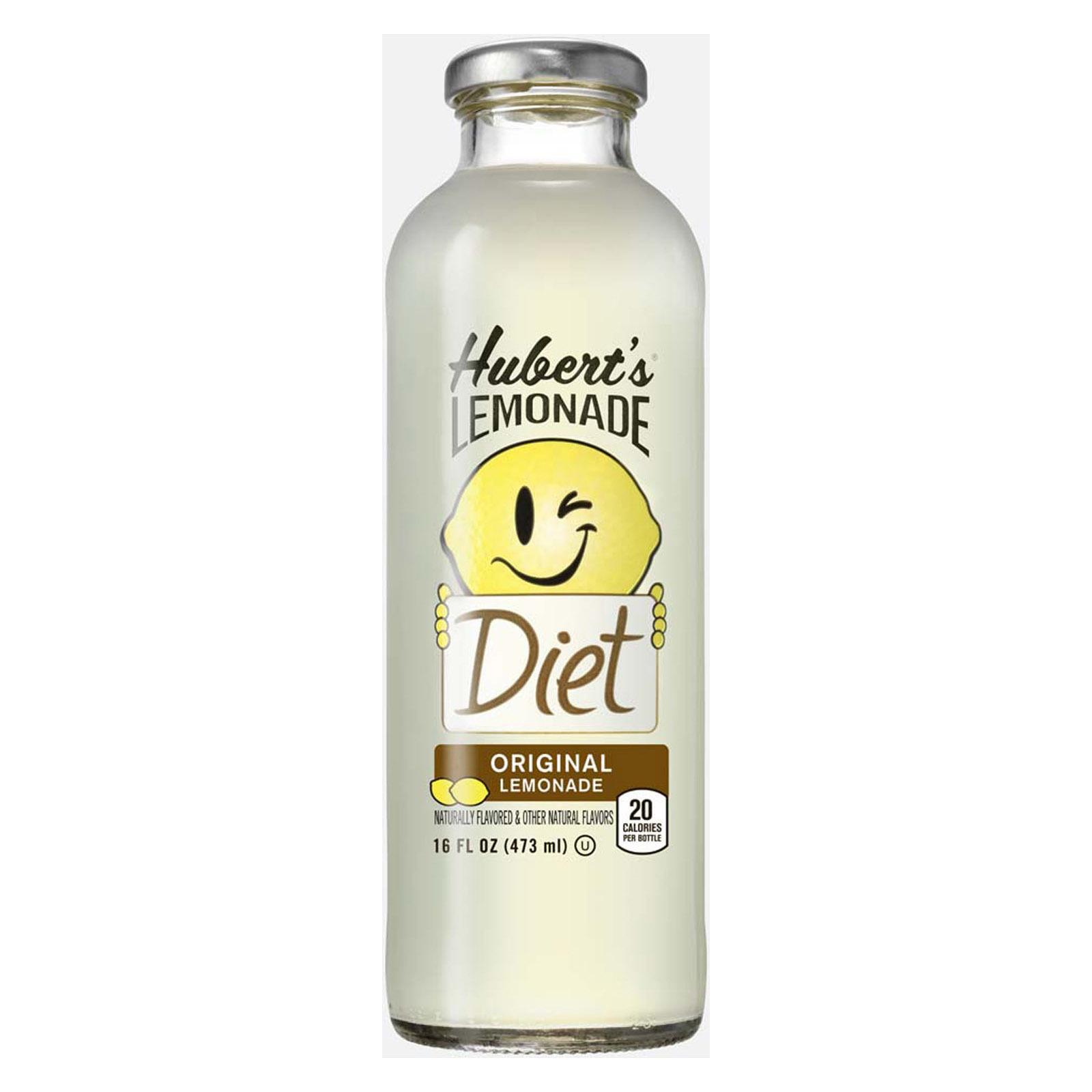 Hubert's Diet Lemonade, Original, 16 fl oz