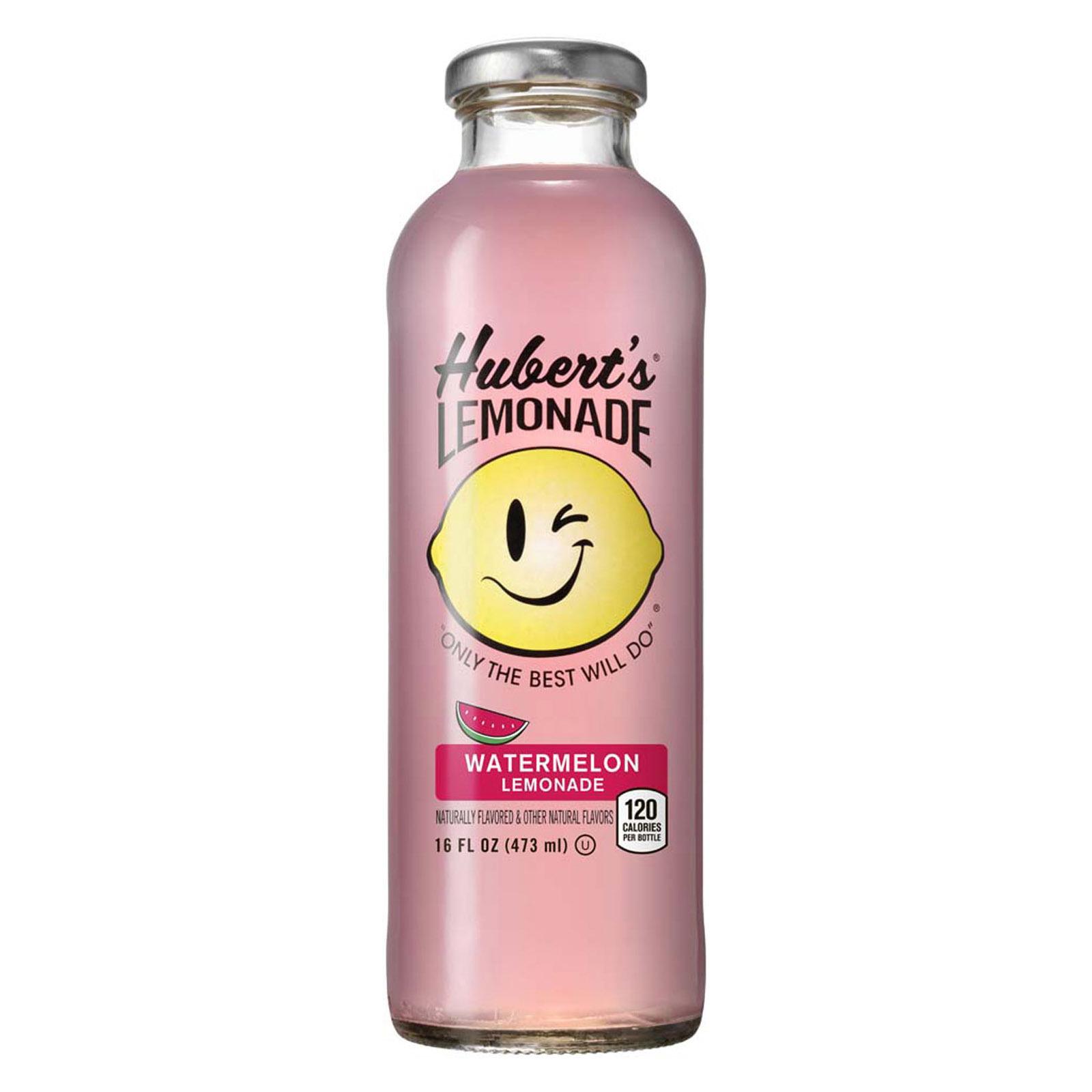 Hubert's Lemonade, Watermelon, 16 fl oz