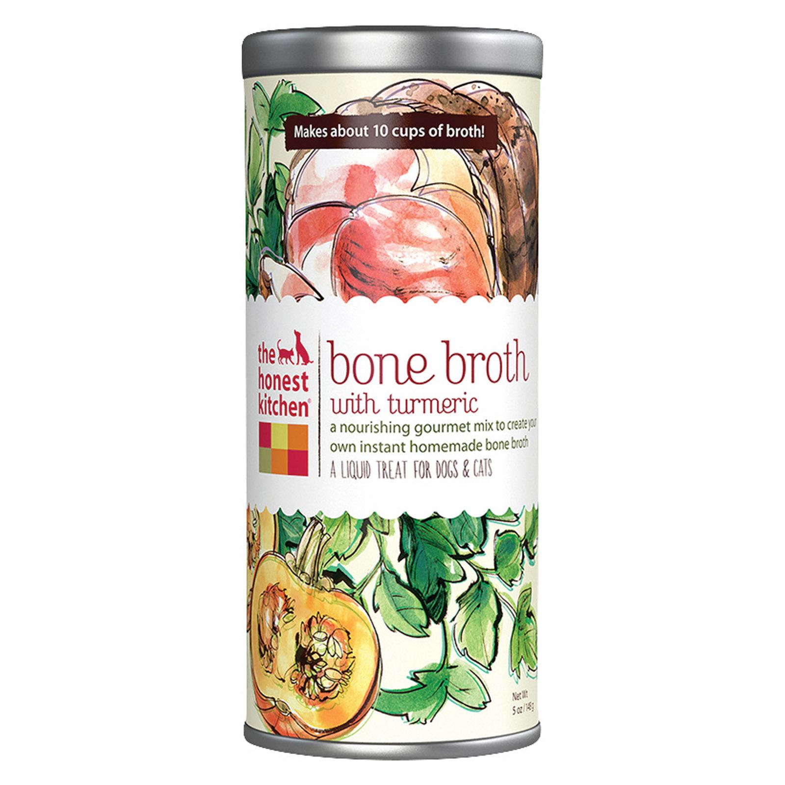The Honest Kitchen Liquid Treat - Bone Broth - Dog and Cat - Case of 6 - 5 oz
