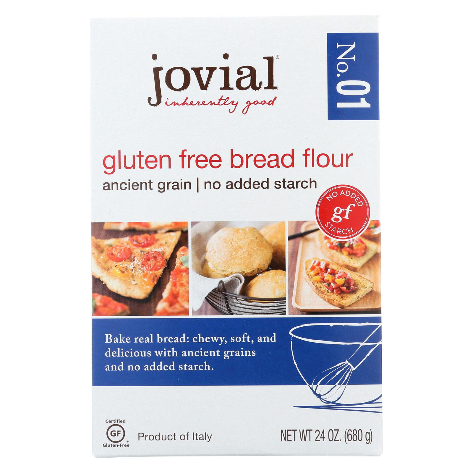 Jovial 1 Gluten Free Bread Flour - Case of 6 - 24 oz.