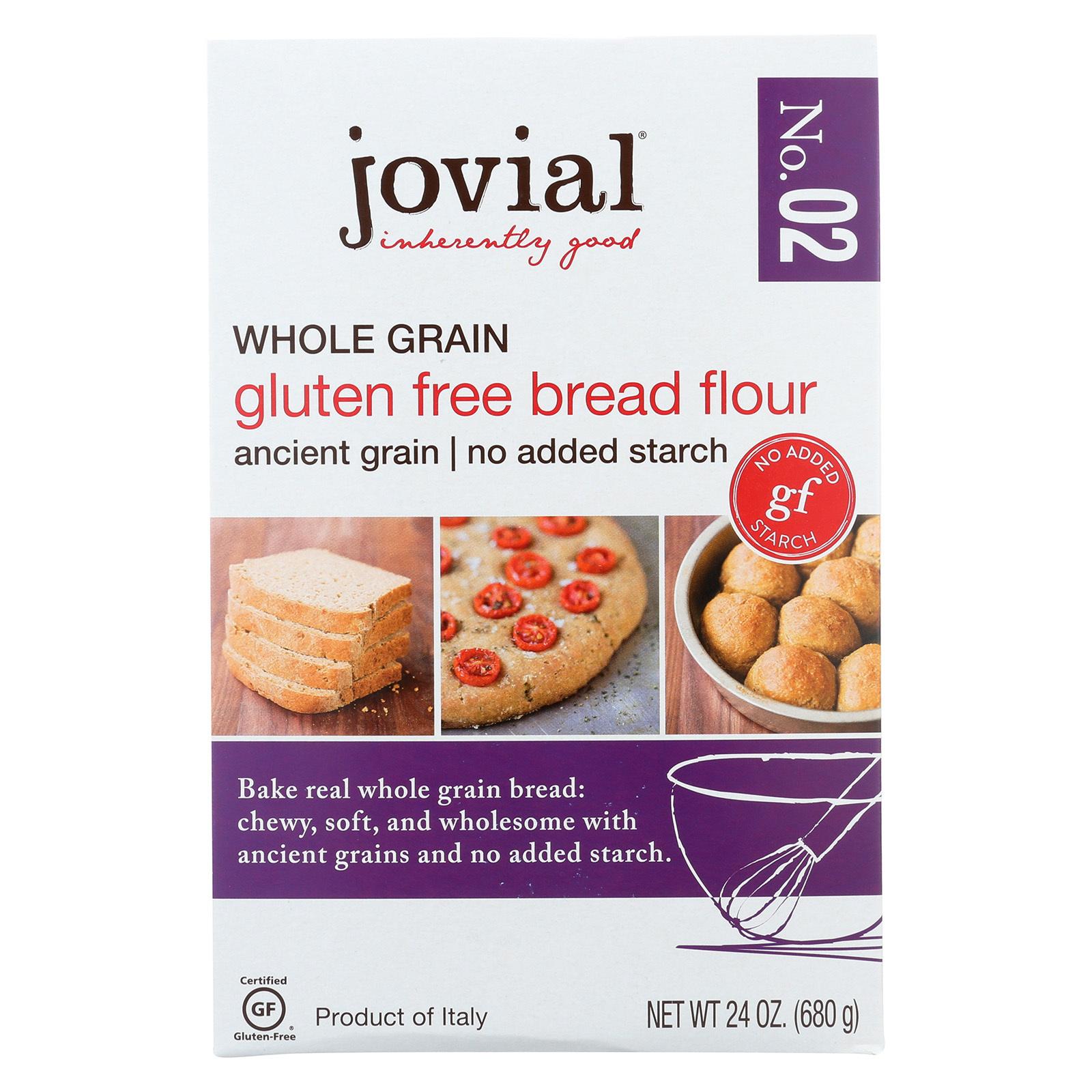 Jovial Gluten Free Bread Flour - Case of 6 - 24 oz.