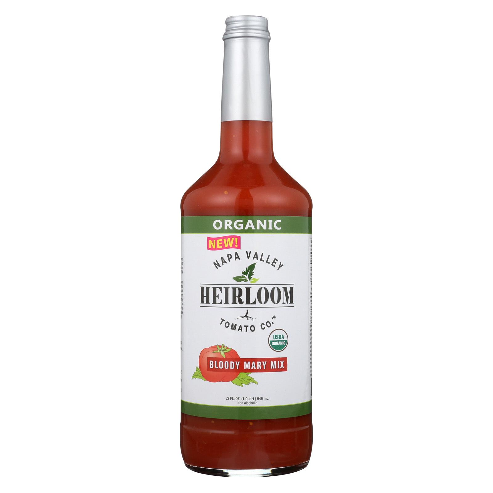 Napa Valley Heirloom Tomato Beverage Mix - Bloody Mary - Case of 12 - 32 Fl oz.