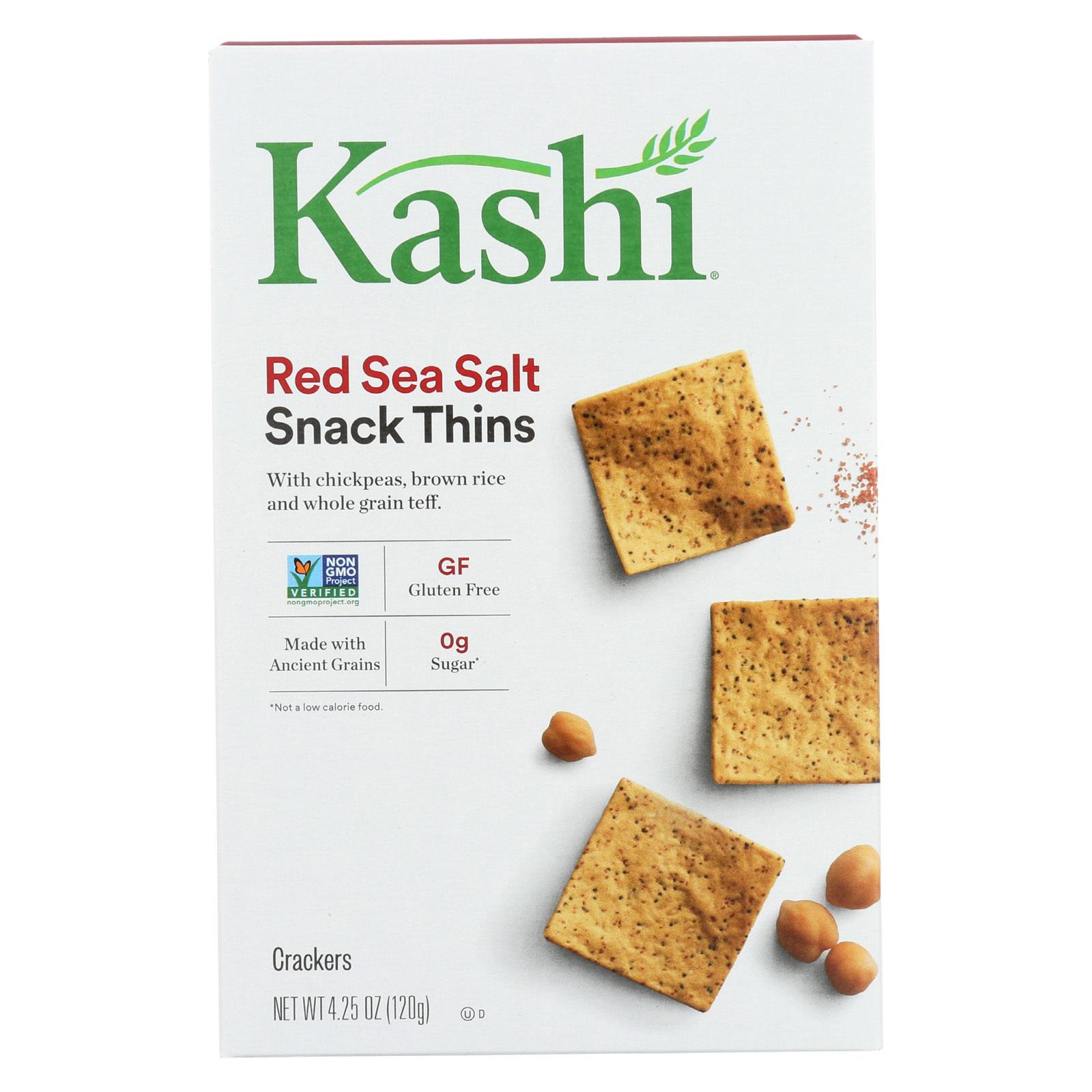 Kashi Teff Thins - Red Sea Salt - Case of 6 - 4.25 oz