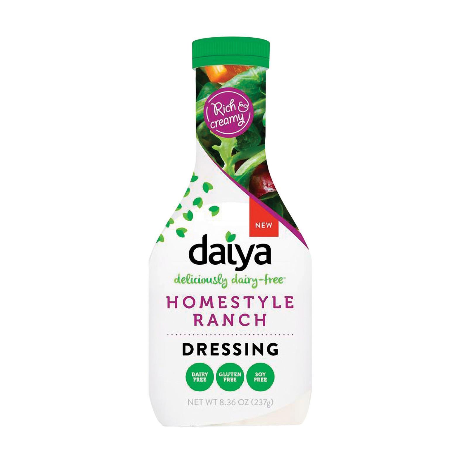 Daiya Foods Homestyle Ranch Dairy - Free Dressing - Case of 6 - 8.36 FL oz.