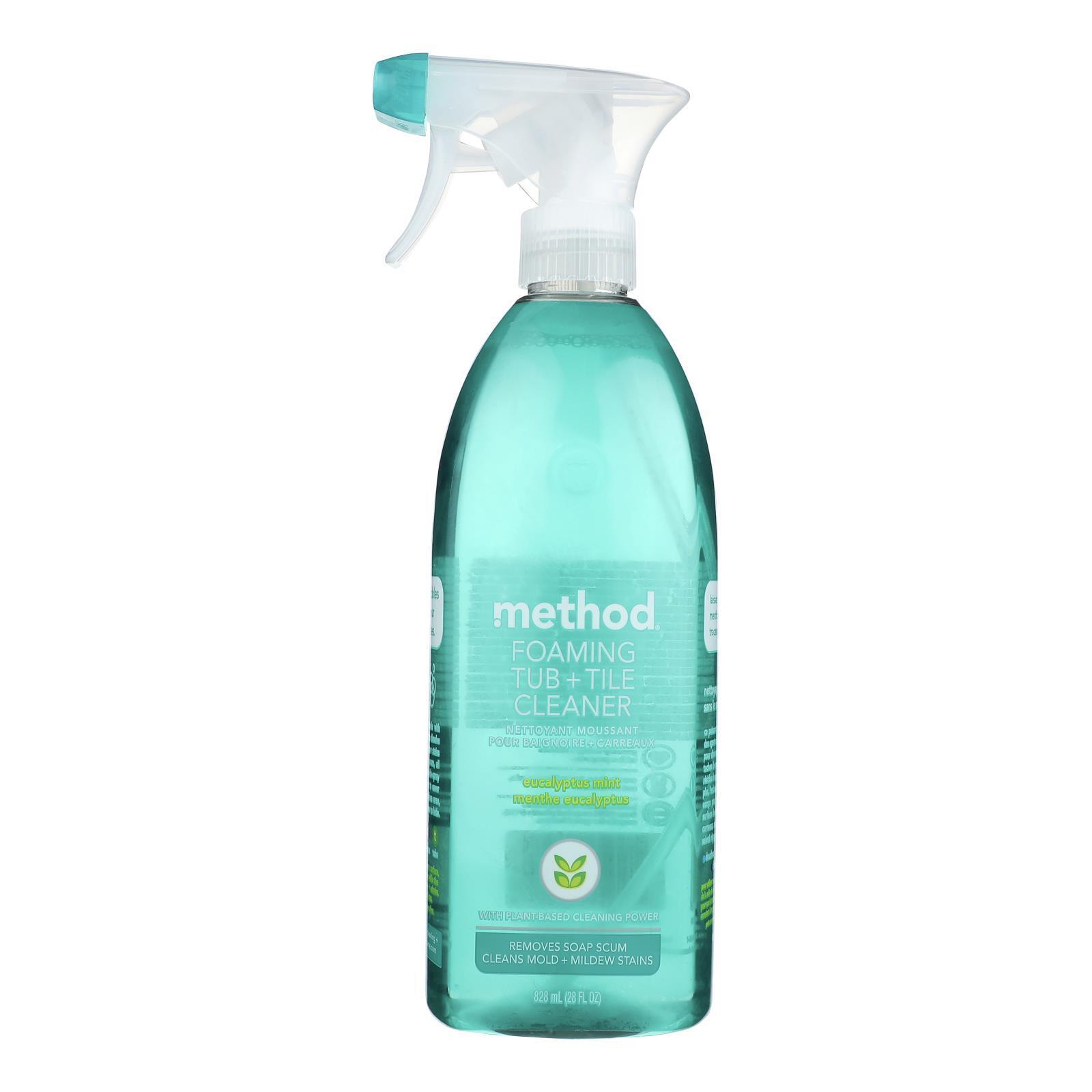 Method Products Inc Foaming Cleaner - Bathroom - Case of 8 - 28 fl oz