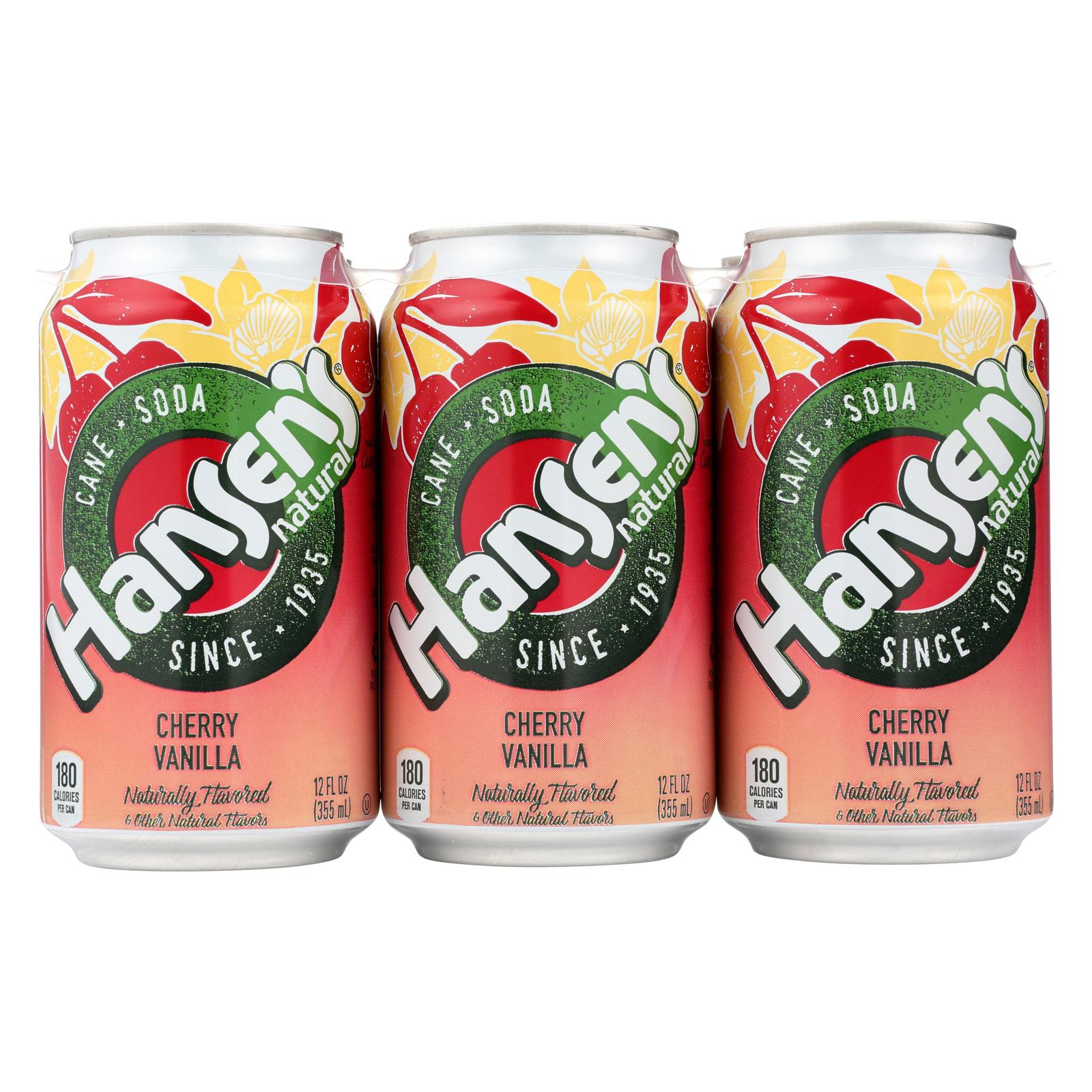 Hansen's Beverages Soda - Sugar Free - Case of 4 - 12 Fl oz.