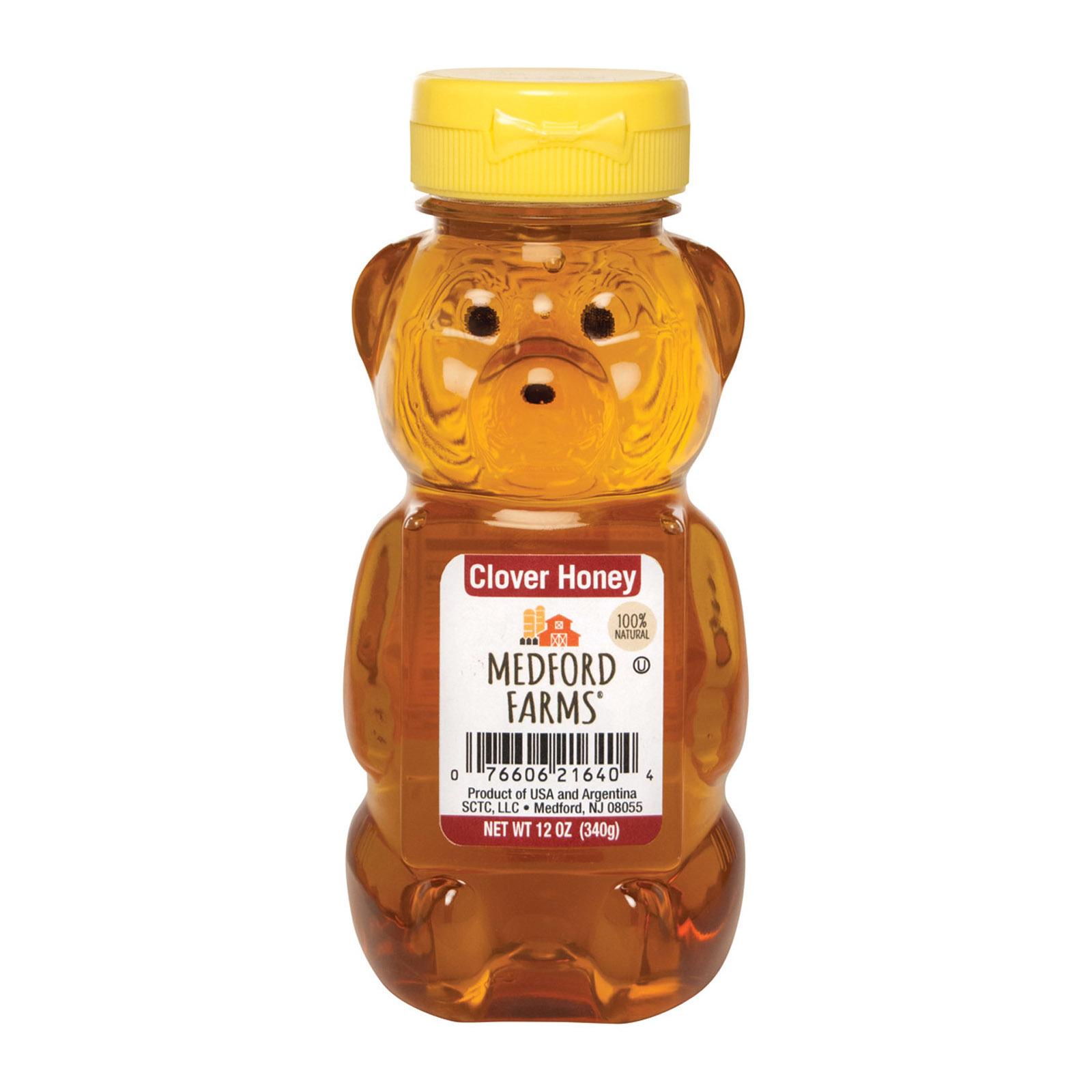 Medford Farms Bear - Honey - Case of 12 - 12 oz
