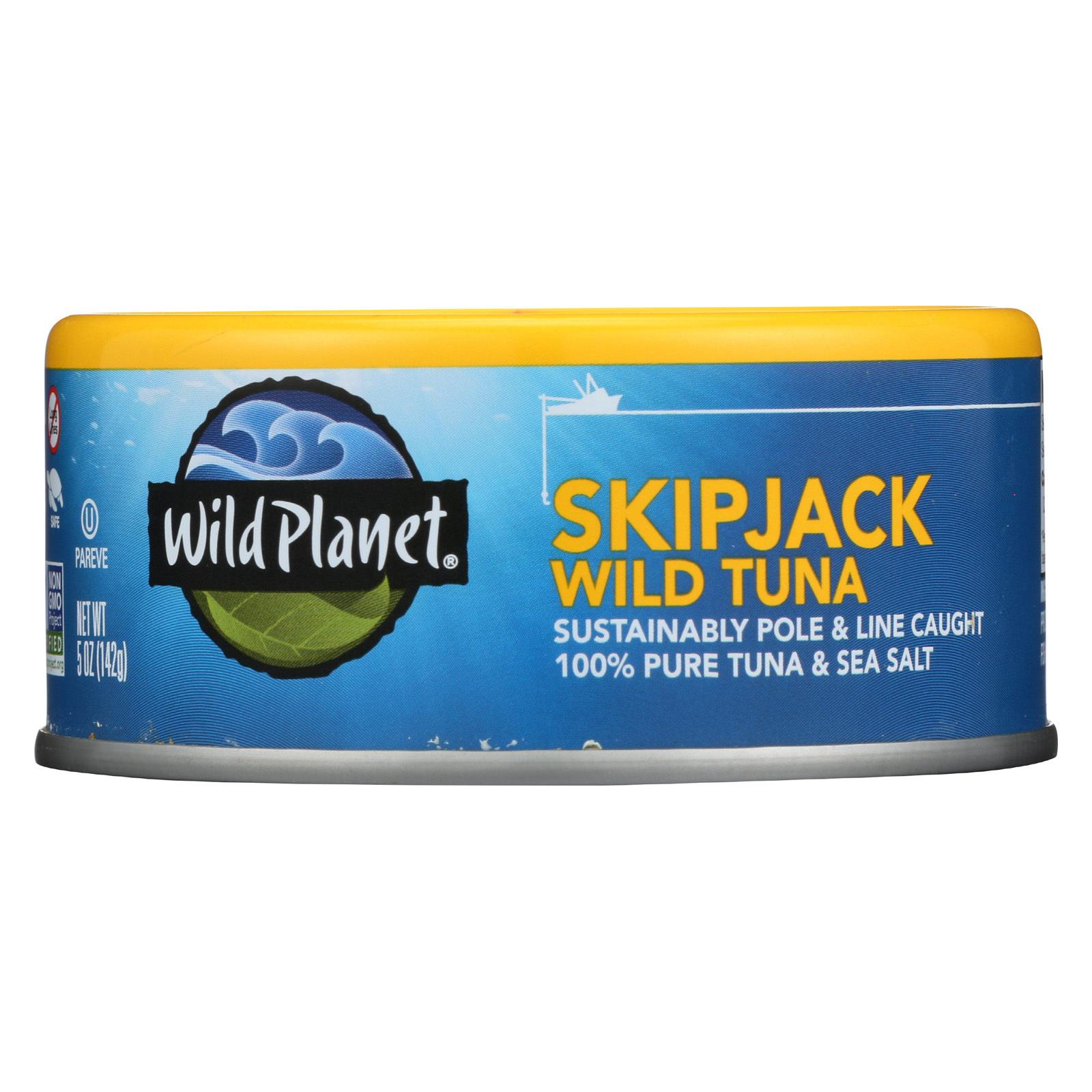 Wild Planet Tuna - Wild Skipjack Light - 5 oz
