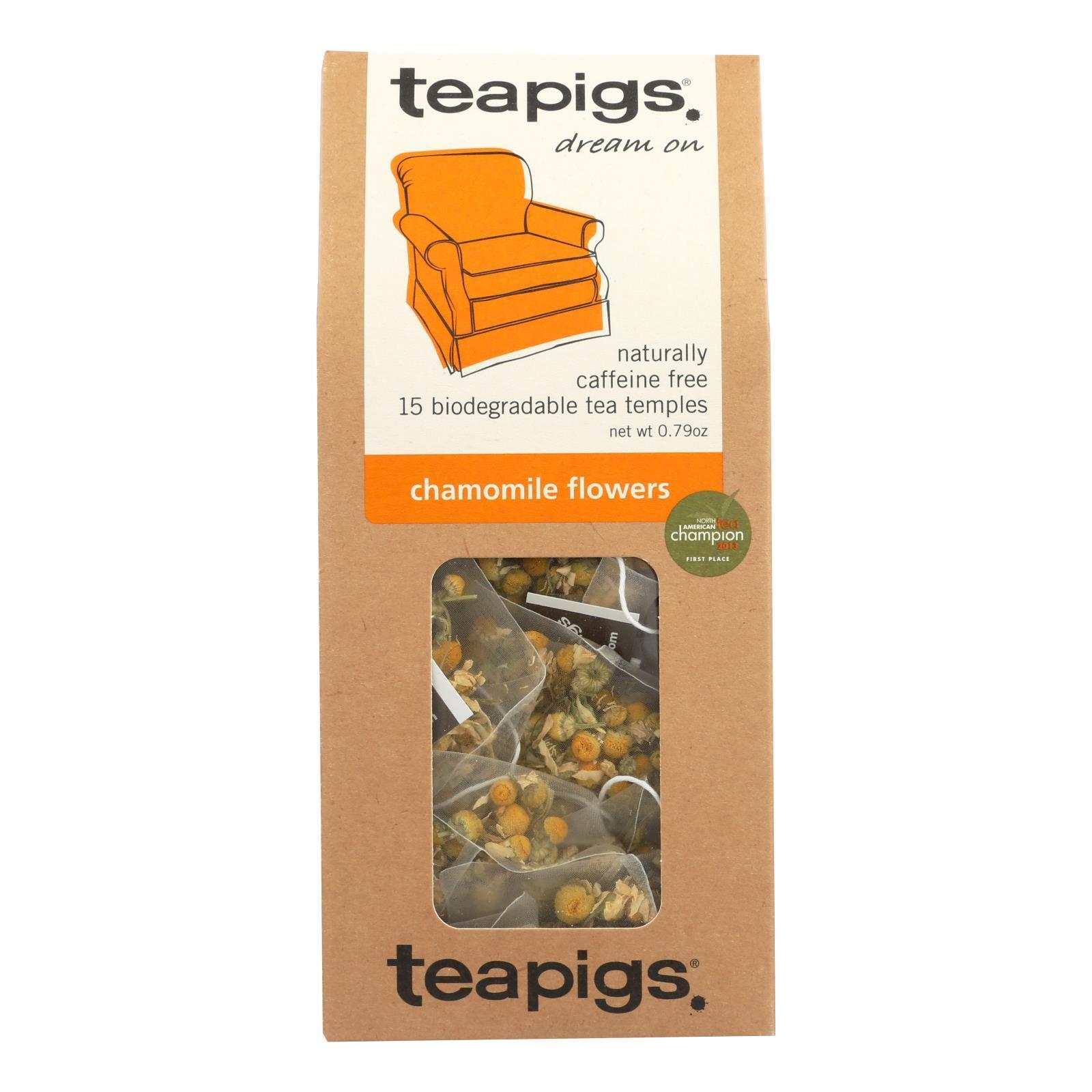 Teapigs Tea - Chamomile Flowers - Case of 6 - 15 count