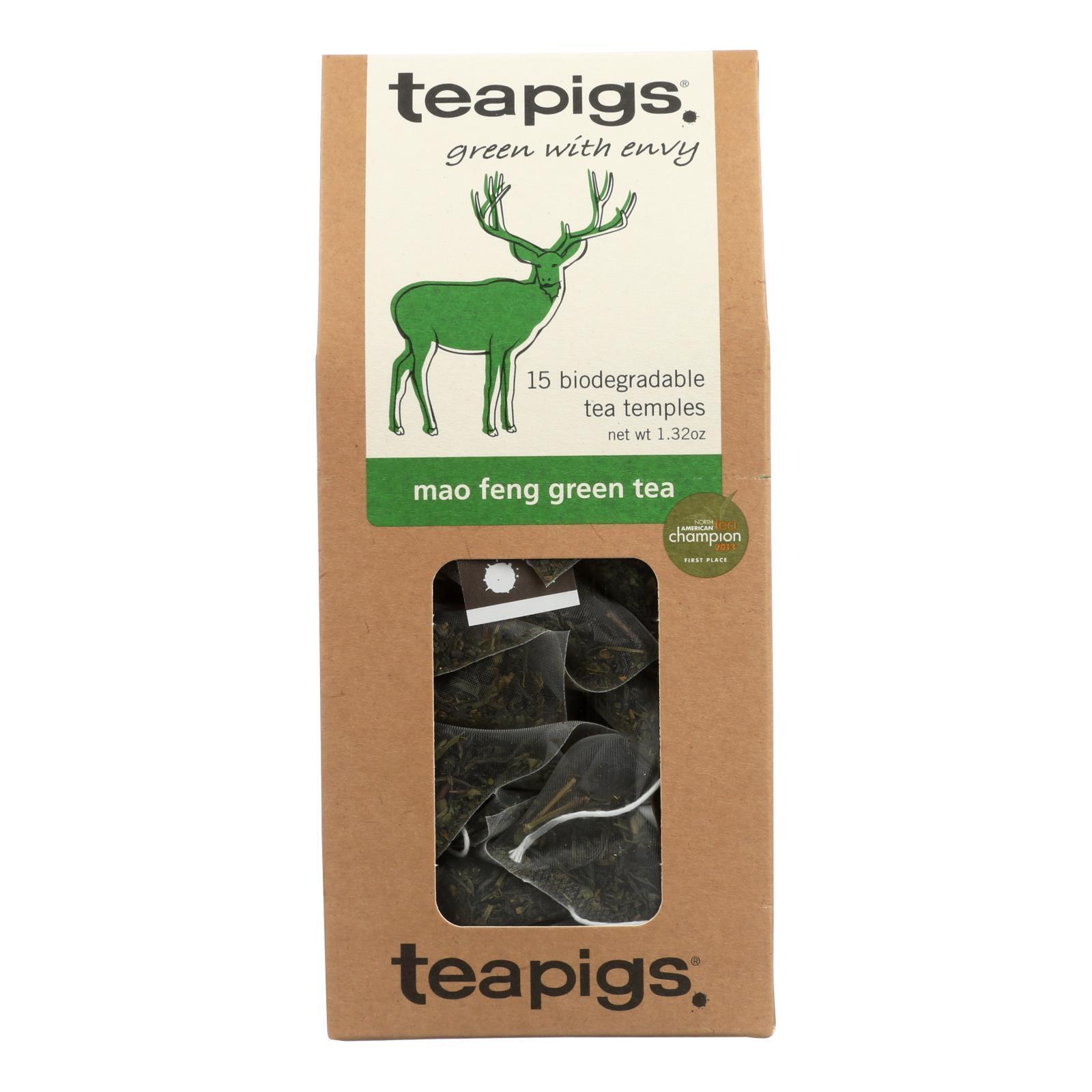 Teapigs Green Tea - Mao Feng - Case of 6 - 15 count