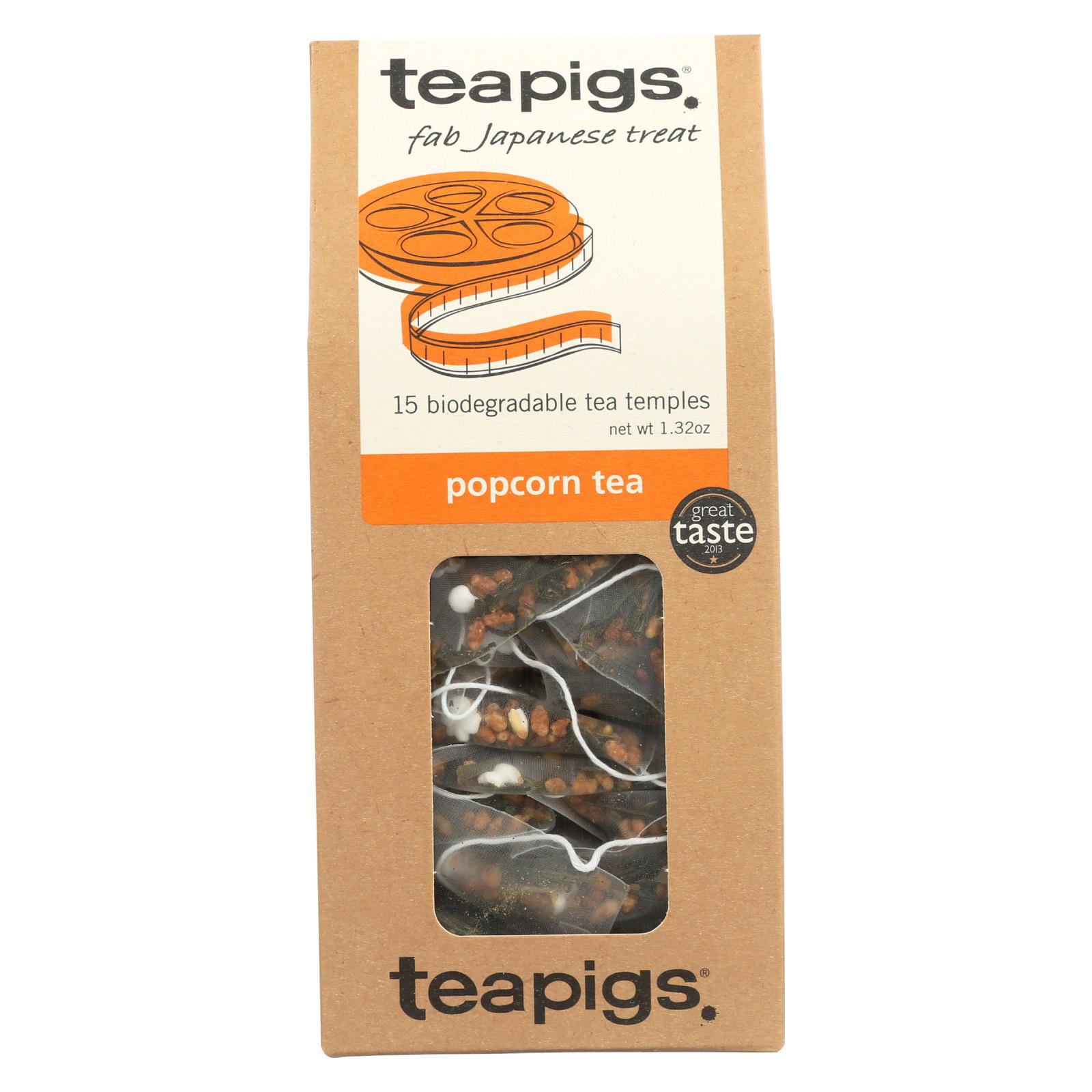 Teapigs Tea - Popcorn - Case of 6 - 15 count