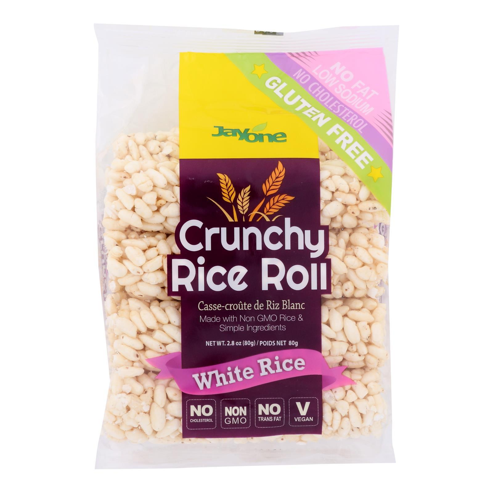 J1 Rice Rll - Crunchy White - Case of 12 - 2.8 oz